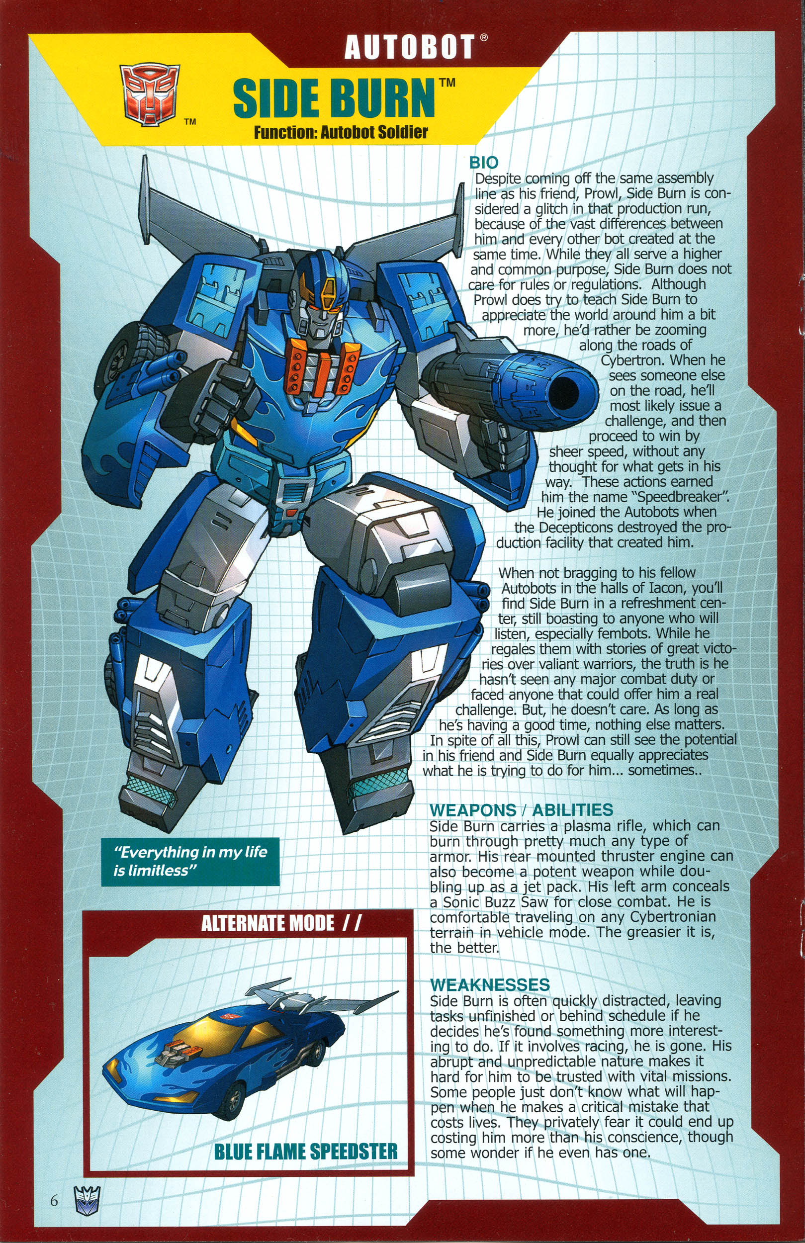 Read online Transformers: Collectors' Club comic -  Issue #39 - 6