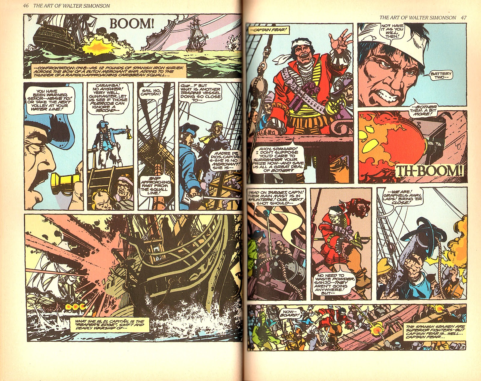 Read online The Art of Walter Simonson comic -  Issue # TPB - 25