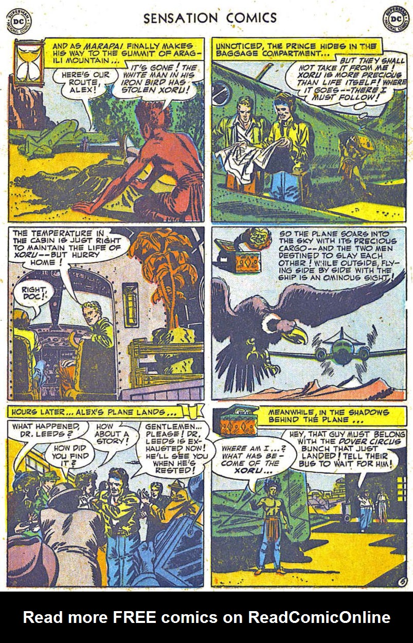 Read online Sensation (Mystery) Comics comic -  Issue #108 - 29