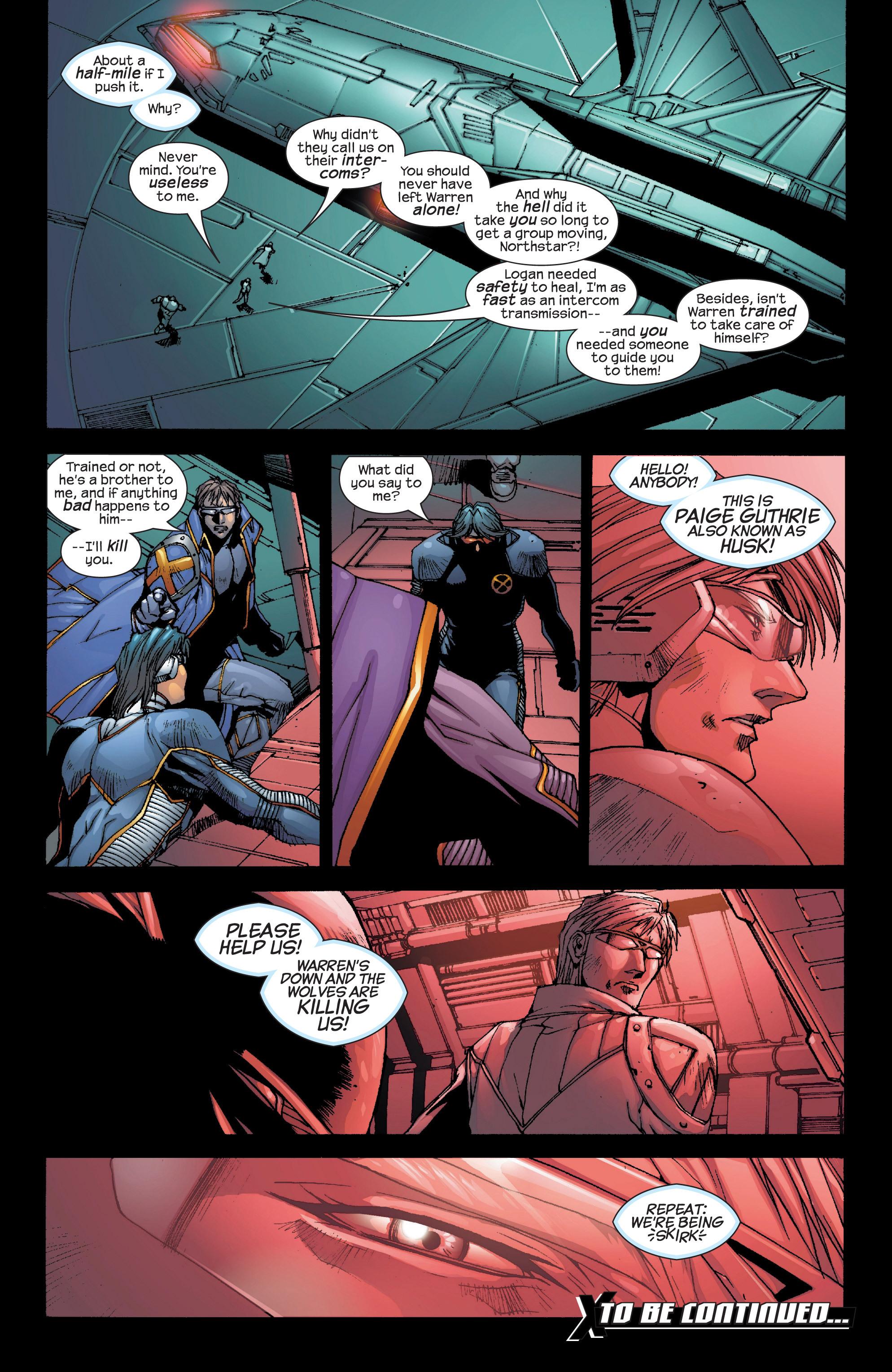 Read online Uncanny X-Men (1963) comic -  Issue #419 - 23