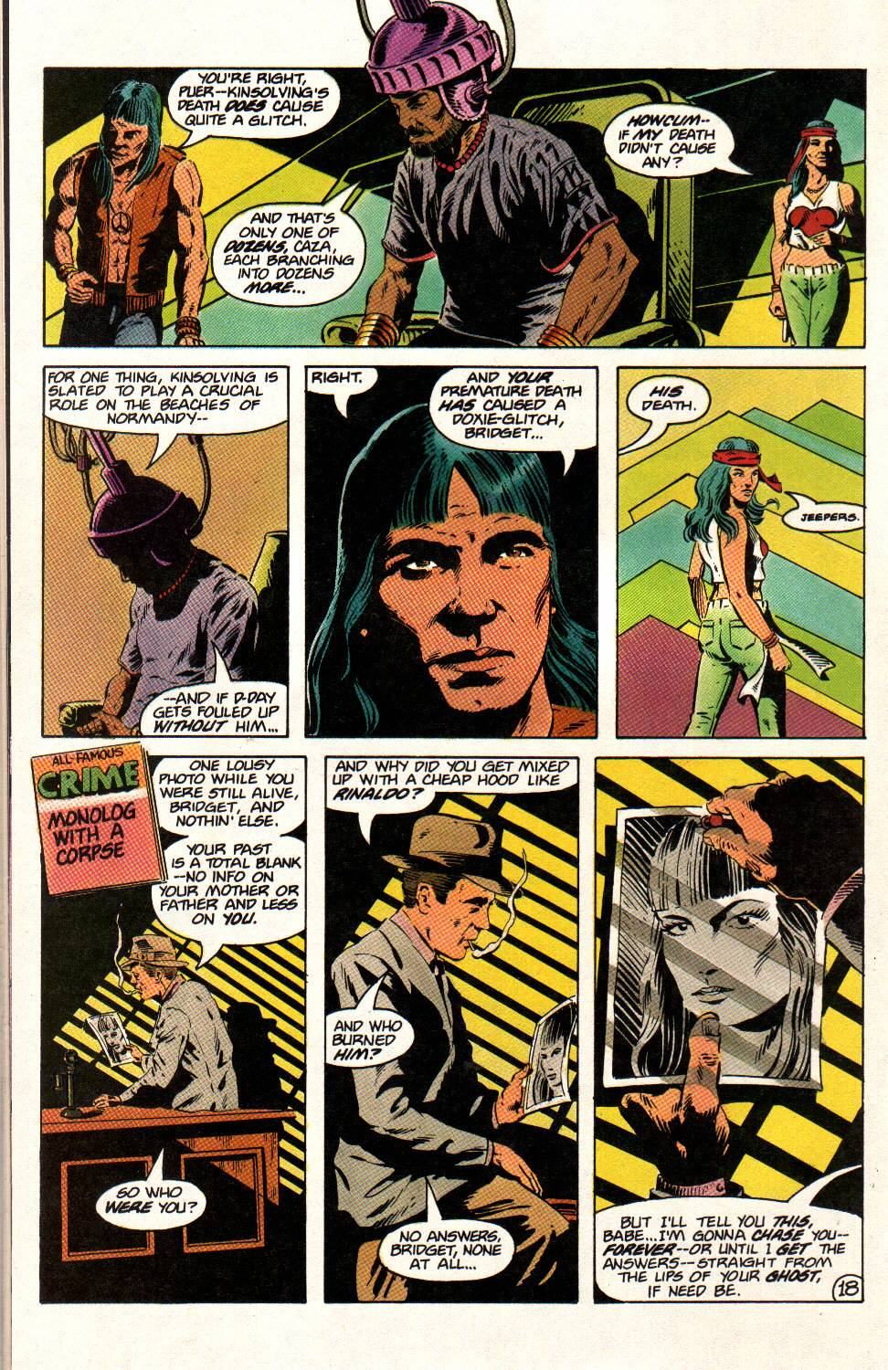 Read online Aztec Ace comic -  Issue #12 - 18