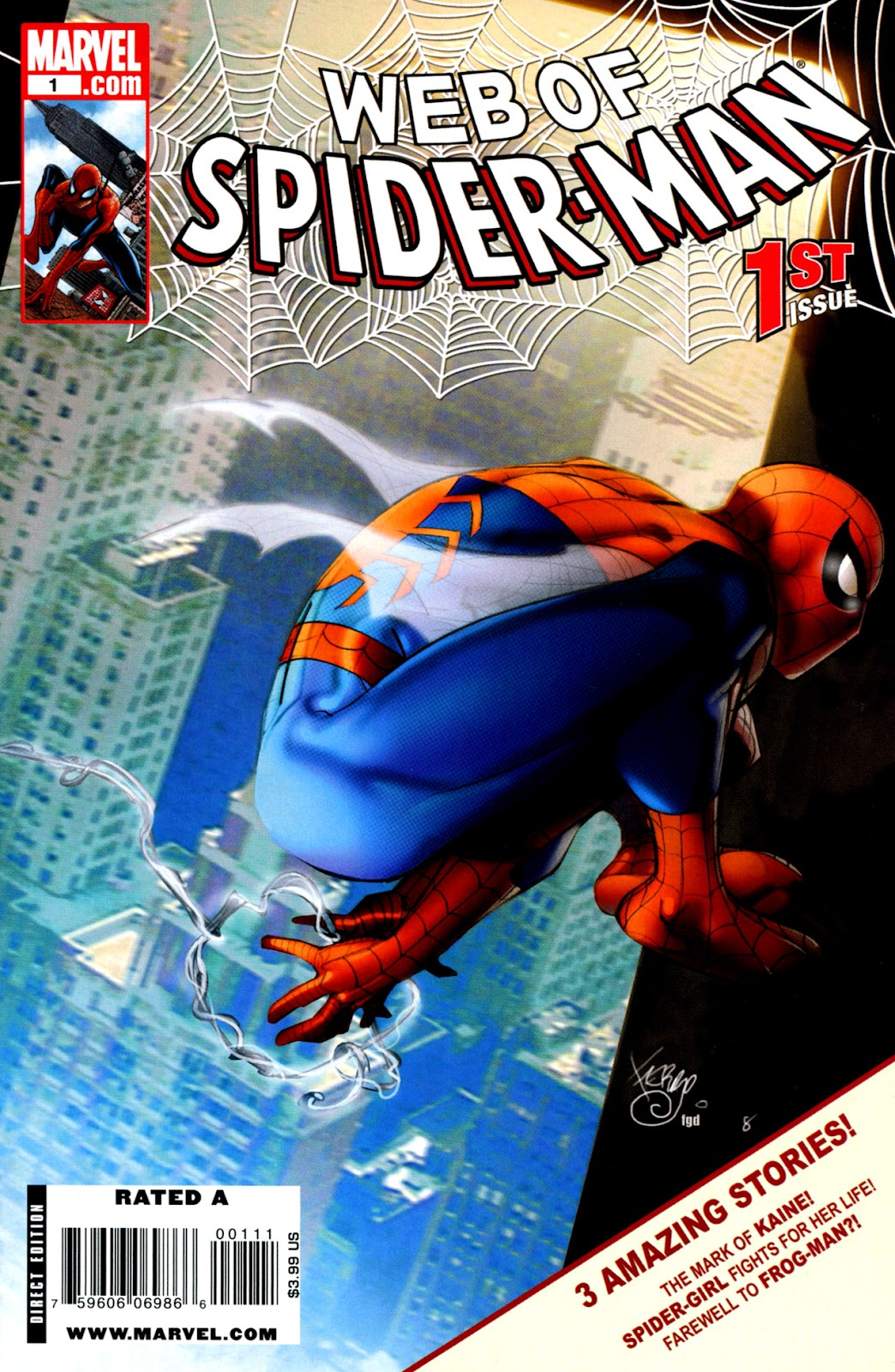 Web of Spider-Man (2009) Issue #1 #1 - English 1