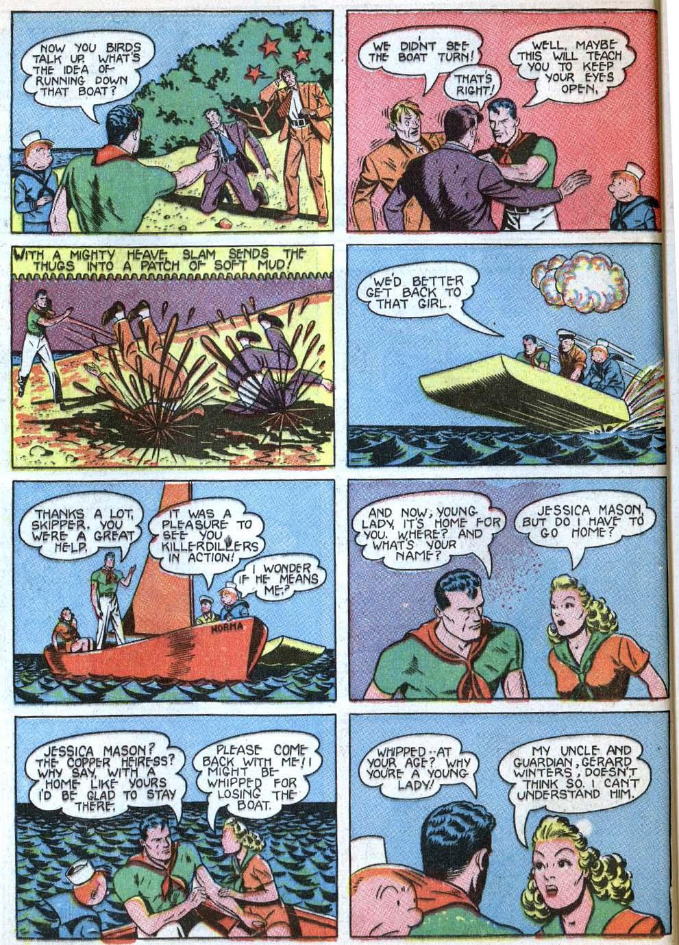 Read online Detective Comics (1937) comic -  Issue #43 - 60