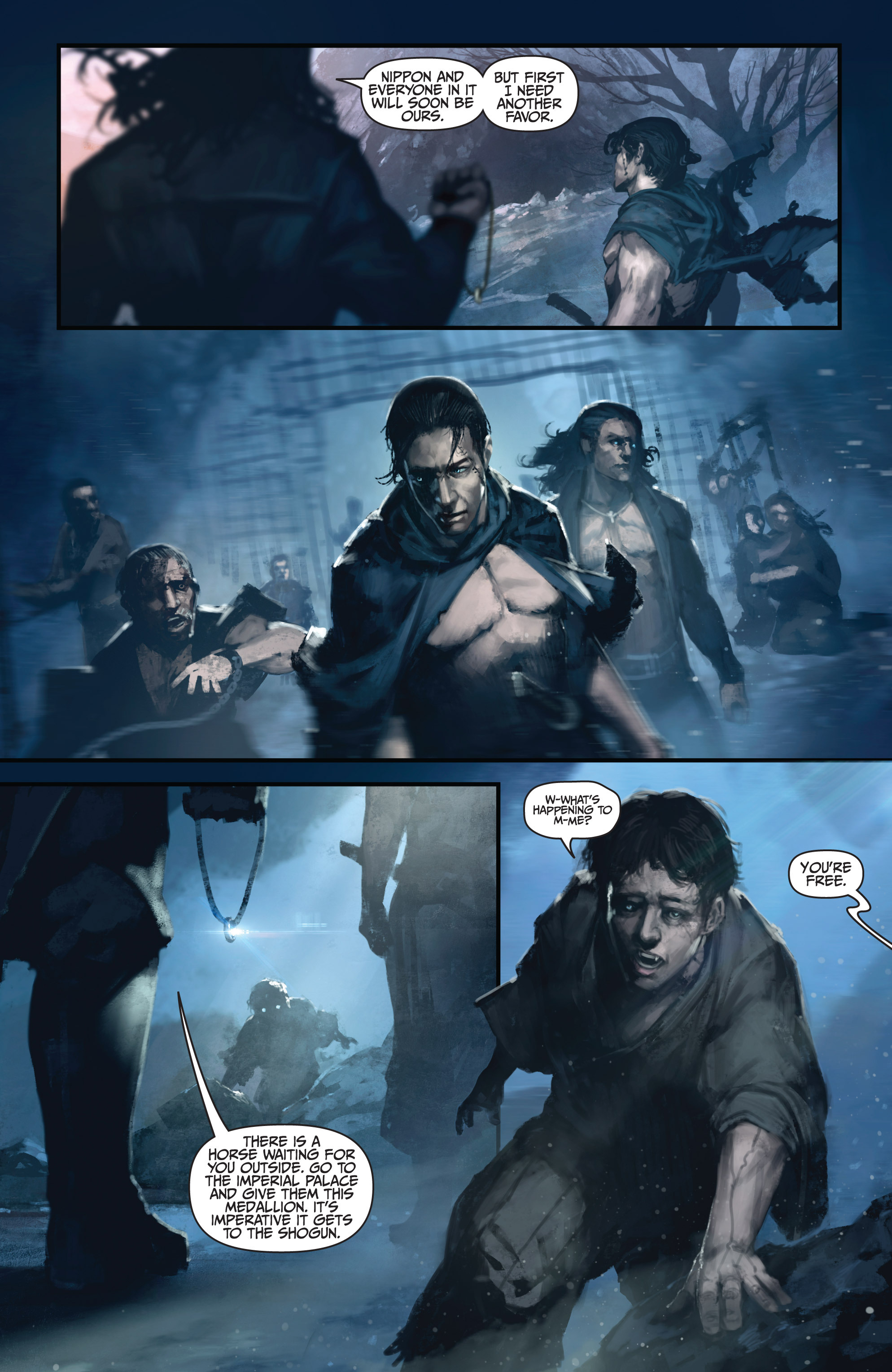 Read online Bushido: The Way of the Warrior comic -  Issue #4 - 9
