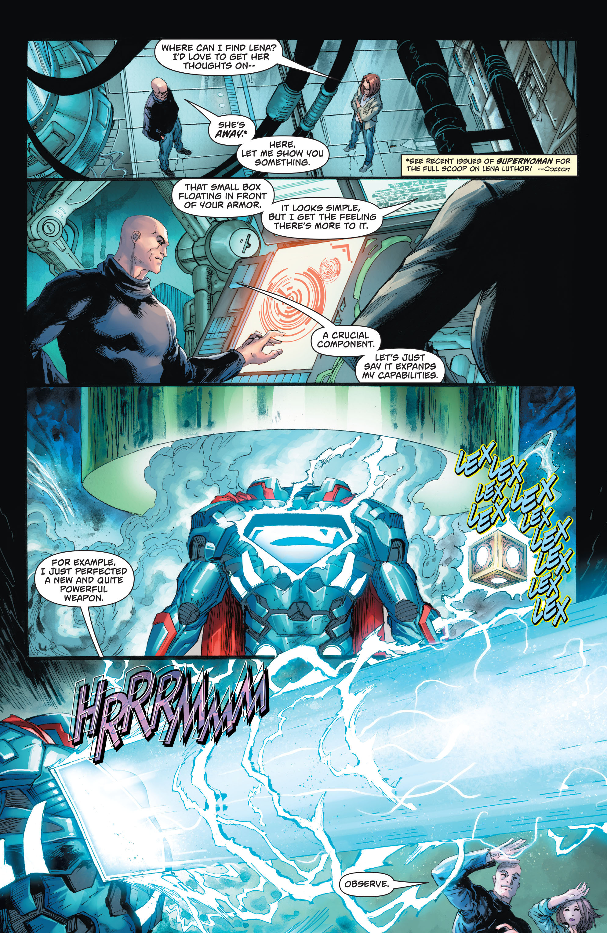 Read online Action Comics (2016) comic -  Issue #967 - 14