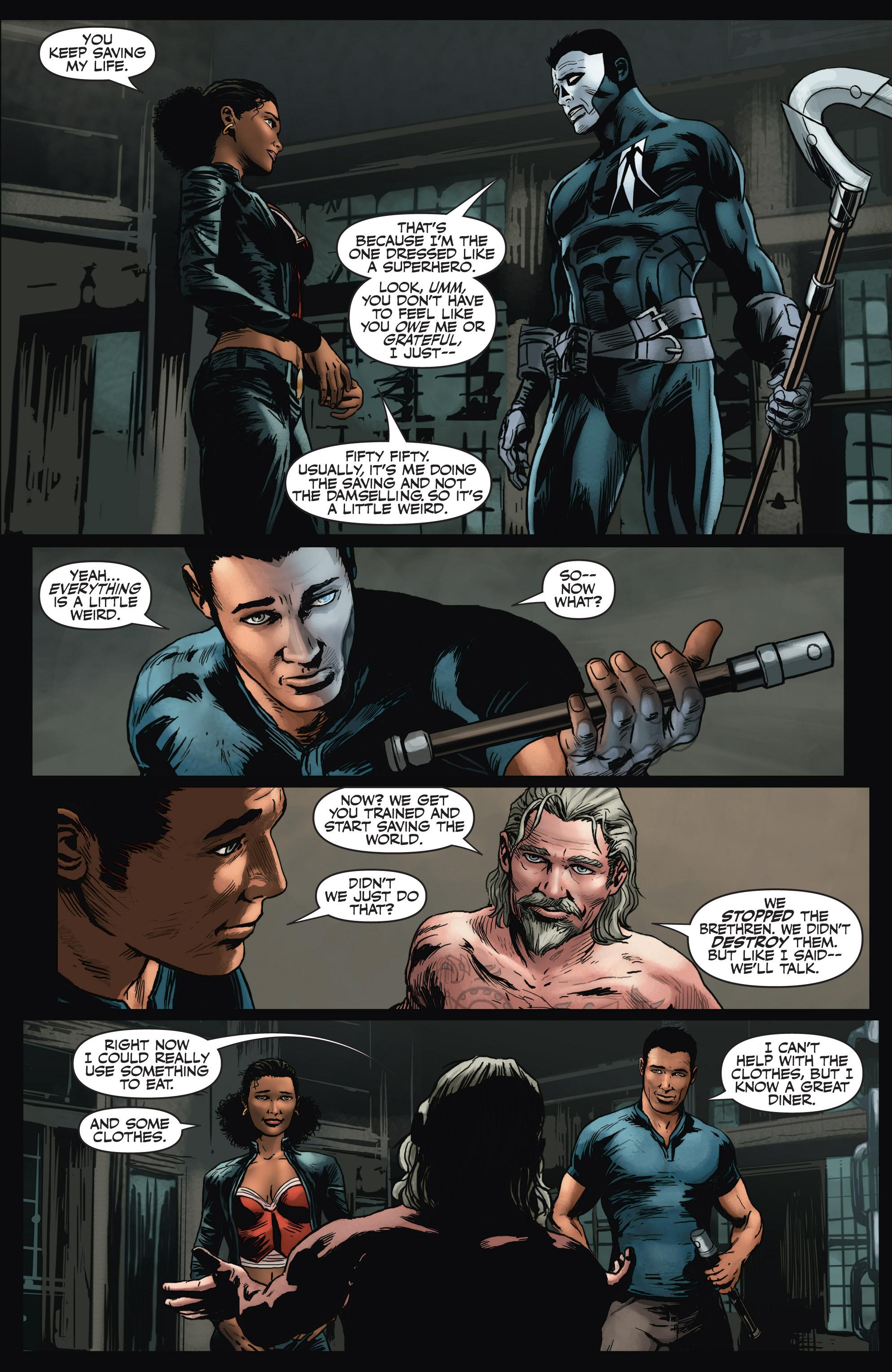 Read online Shadowman (2012) comic -  Issue #4 - 23