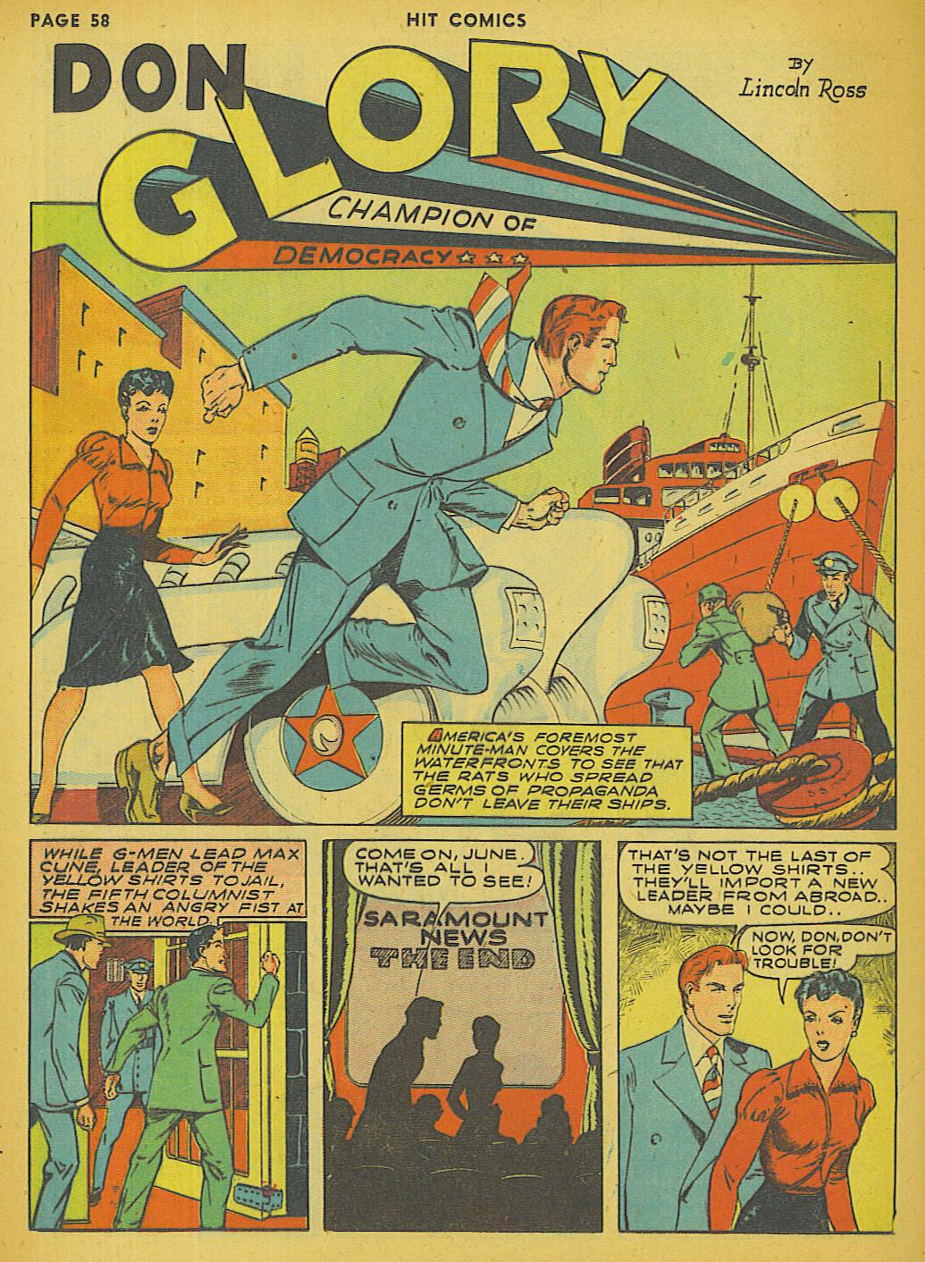 Read online Hit Comics comic -  Issue #13 - 60