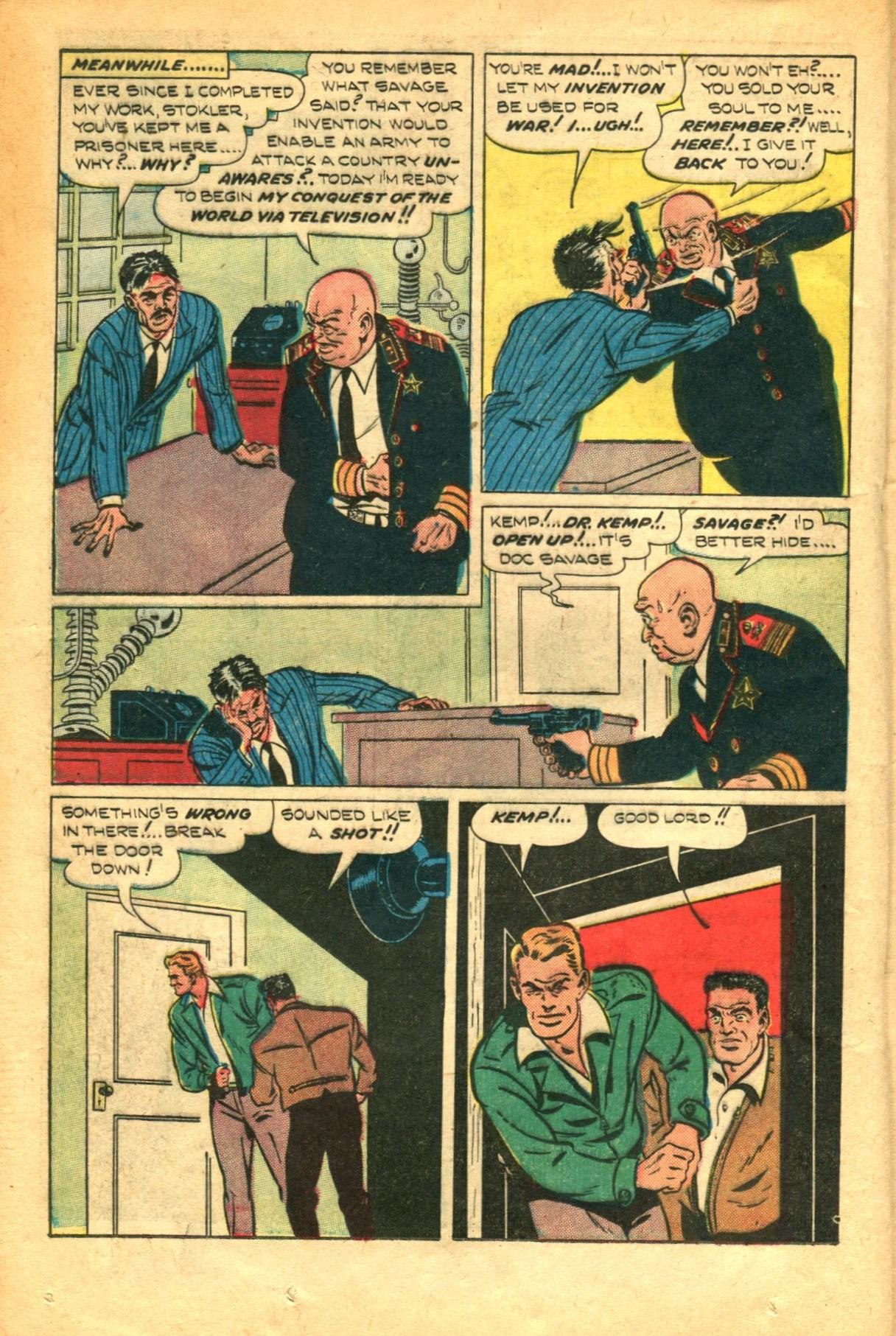 Read online Shadow Comics comic -  Issue #91 - 28