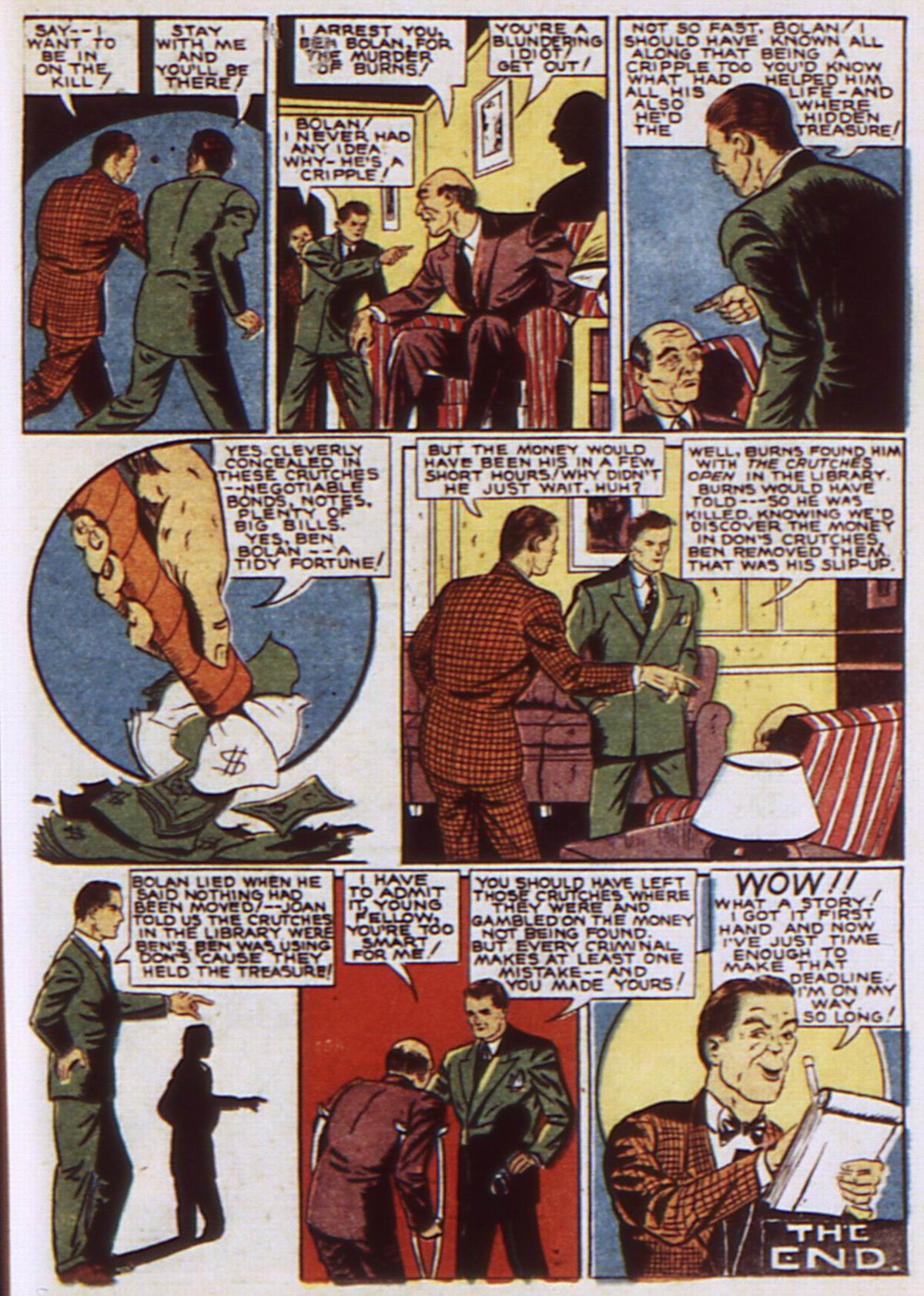 Read online Detective Comics (1937) comic -  Issue #52 - 43