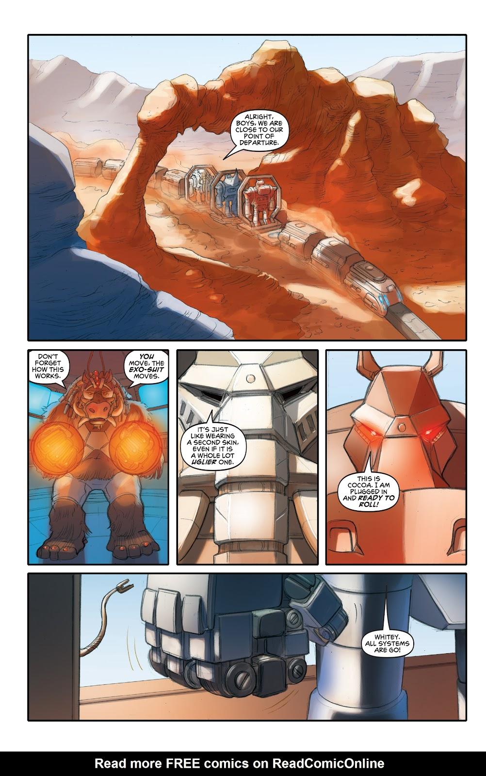Read online Elephantmen 2261 Season Two: The Pentalion Job comic -  Issue # TPB - 47