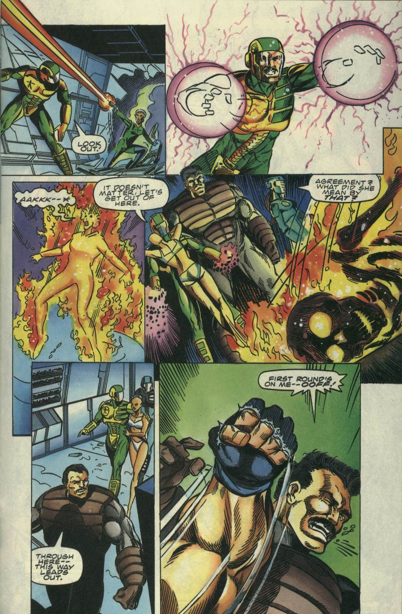 Read online Secret Weapons comic -  Issue #17 - 21