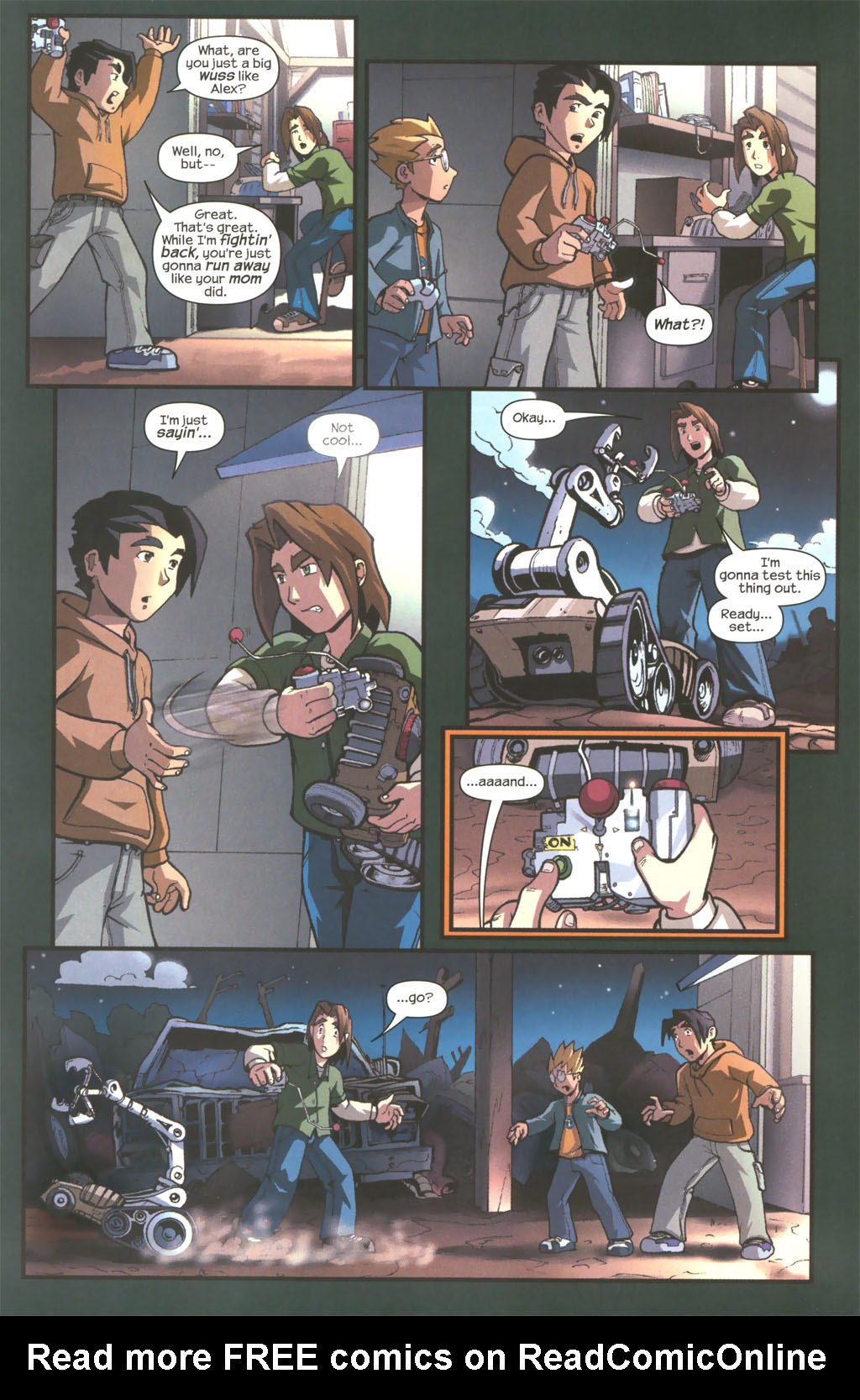 Read online Sentinel comic -  Issue #1 - 18