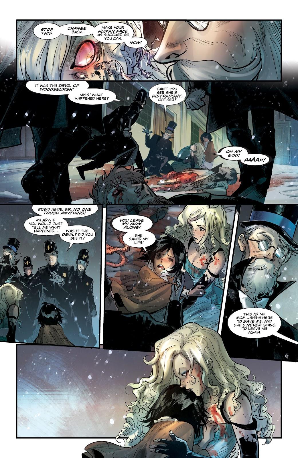 Read online Mirka Andolfo's Mercy comic -  Issue #2 - 26