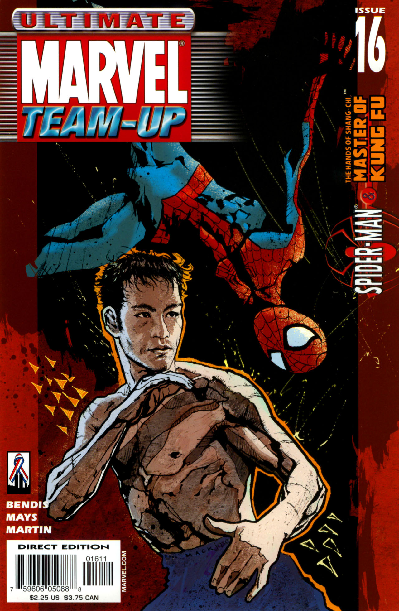 Read online Ultimate Marvel Team-Up comic -  Issue #16 - 1