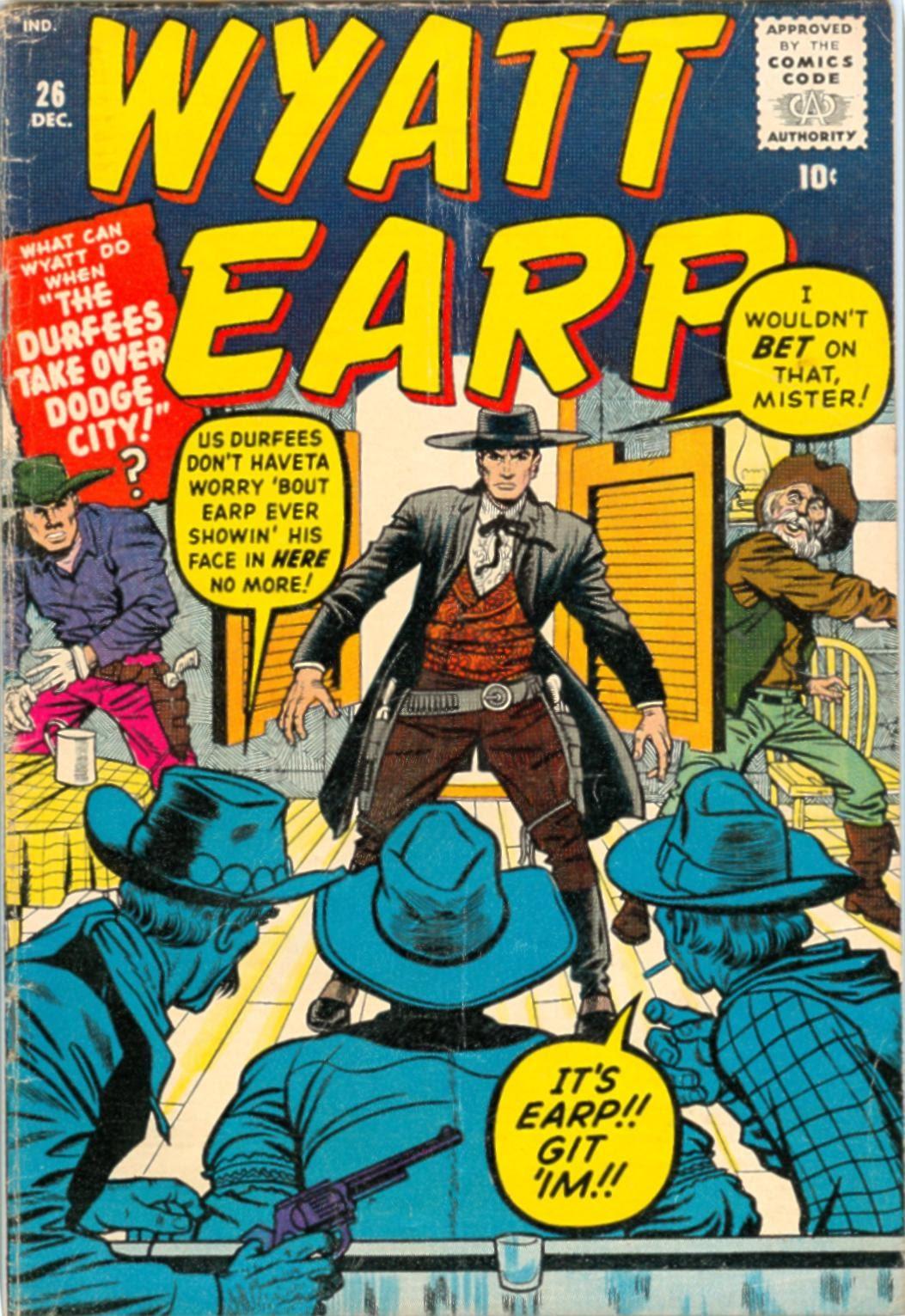 Wyatt Earp 26 Page 1