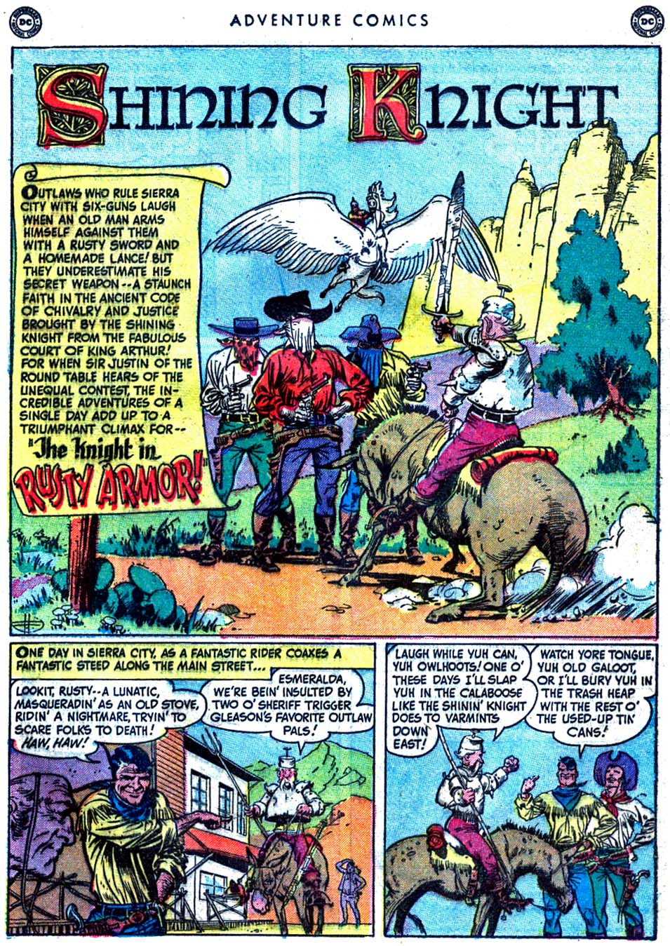 Read online Adventure Comics (1938) comic -  Issue #163 - 17