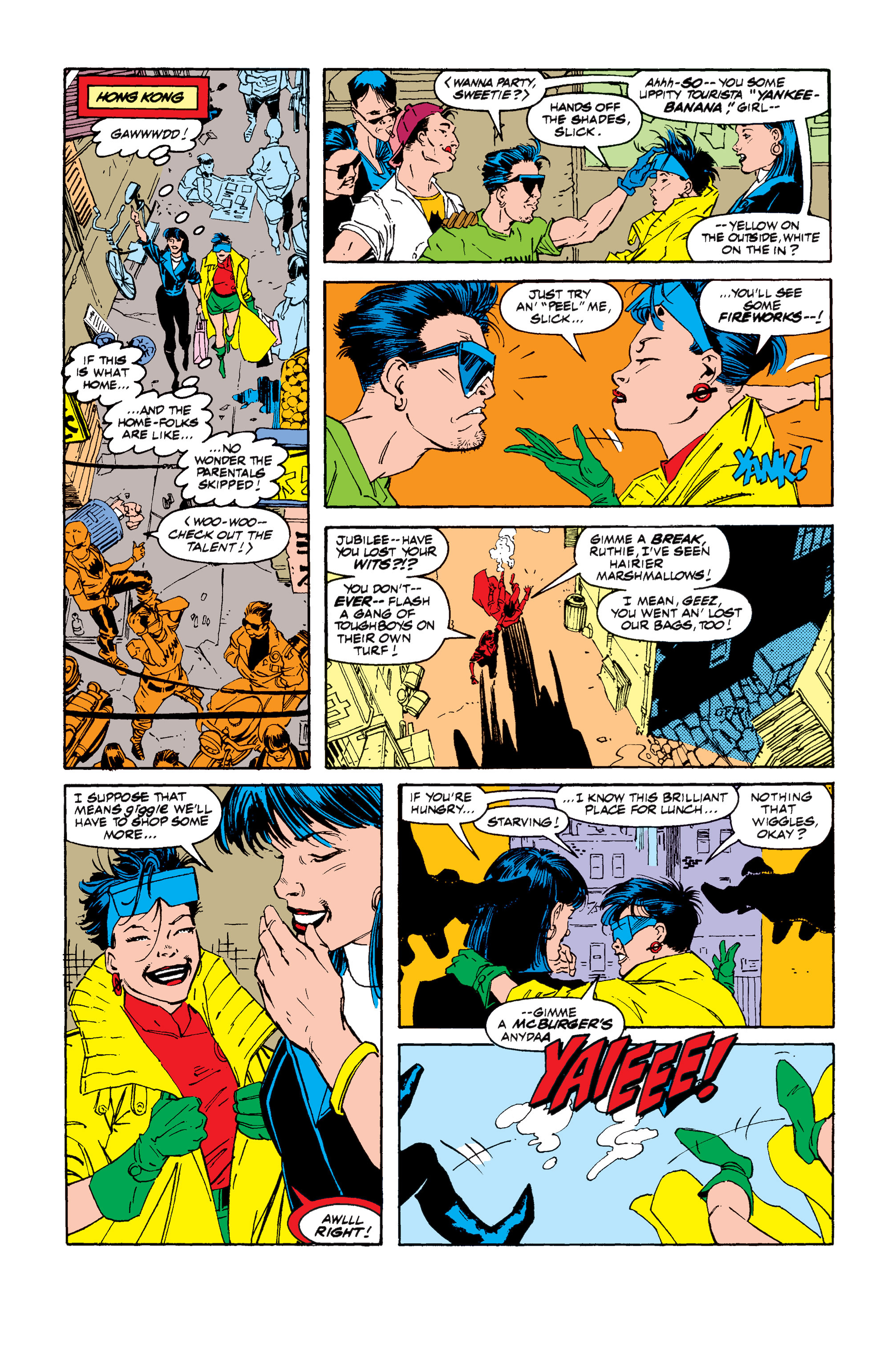 Read online Uncanny X-Men (1963) comic -  Issue #257 - 17