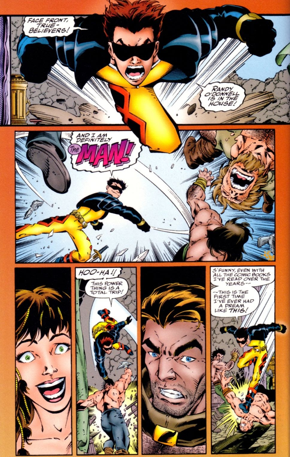 Read online Randy O'Donnell is The M@N comic -  Issue #1 - 18