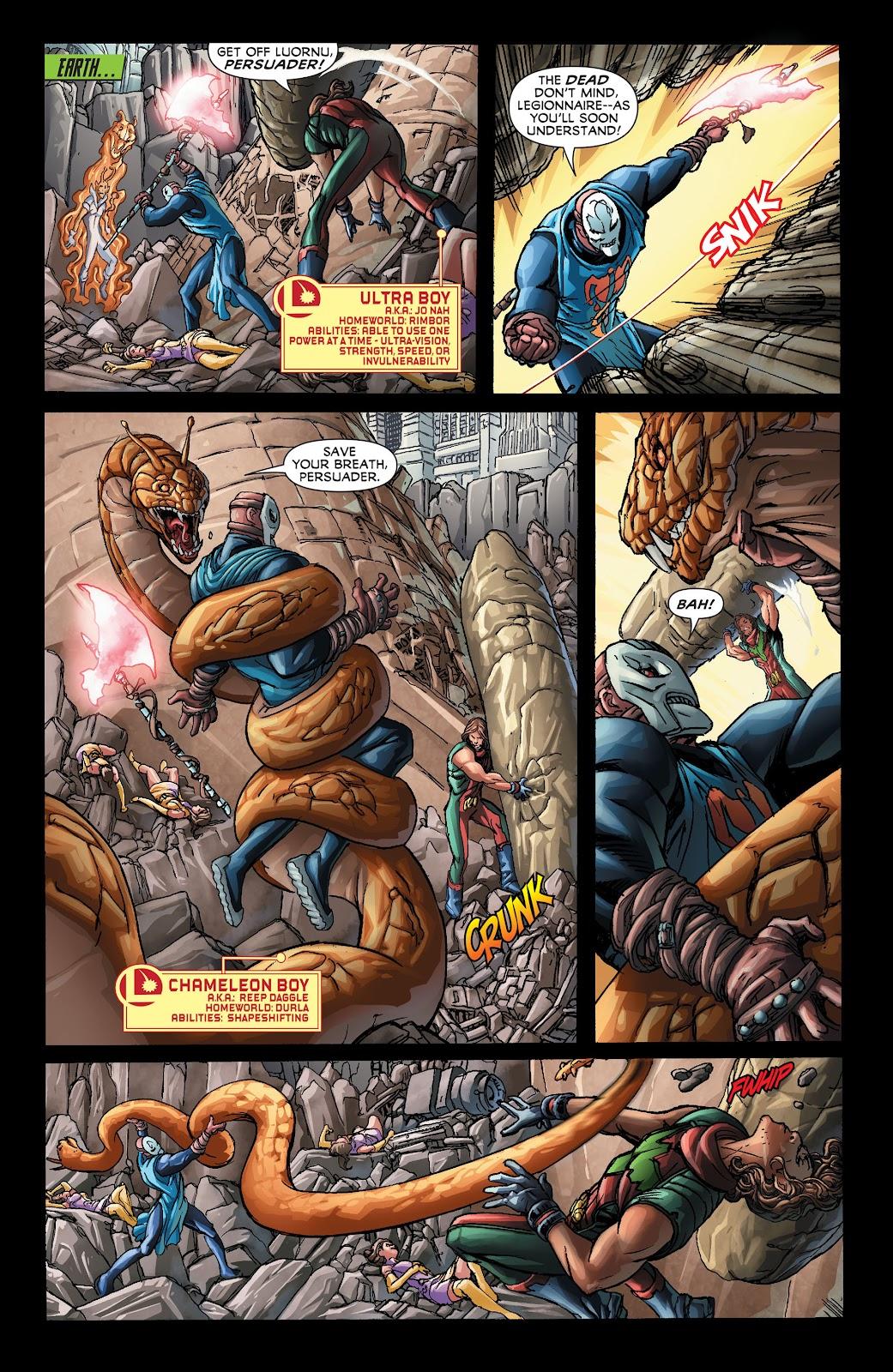 Legion of Super-Heroes (2011) Issue #21 #22 - English 4