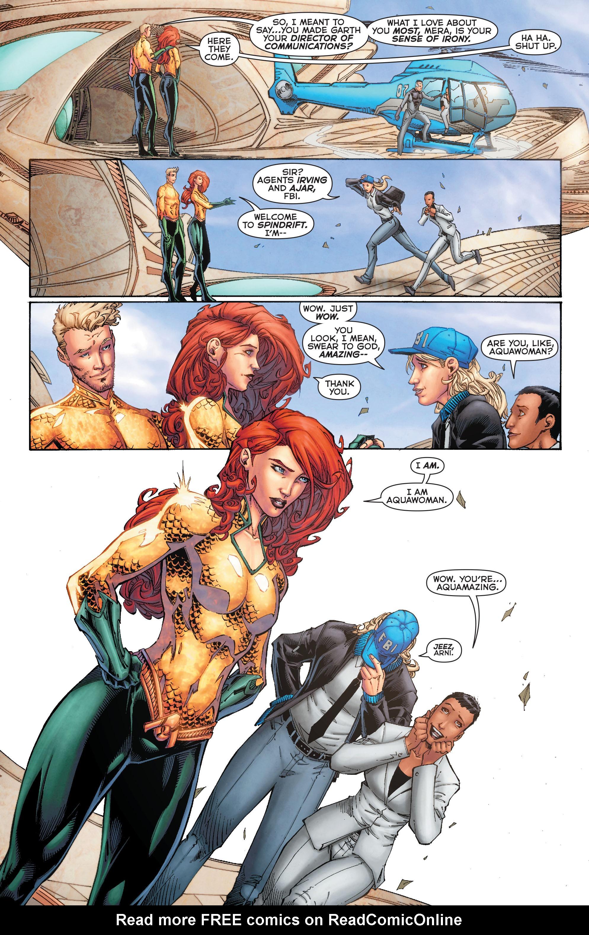 Read online Aquaman (2011) comic -  Issue #50 - 12