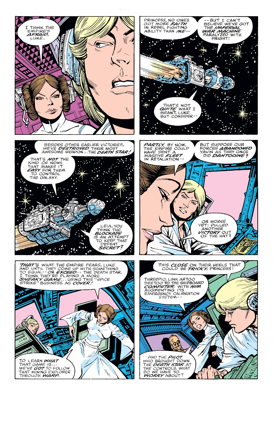 Read online Star Wars Legends: The Original Marvel Years - Epic Collection comic -  Issue # TPB 2 (Part 1) - 31