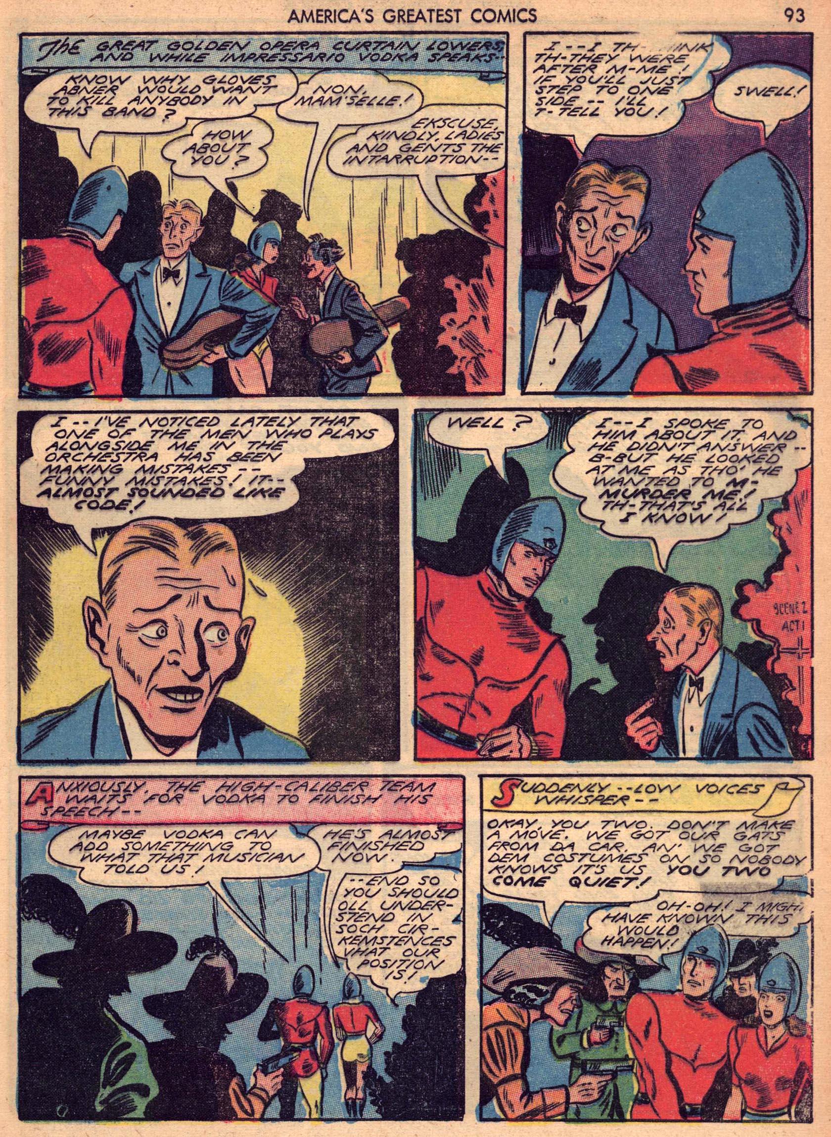 Read online America's Greatest Comics comic -  Issue #7 - 92