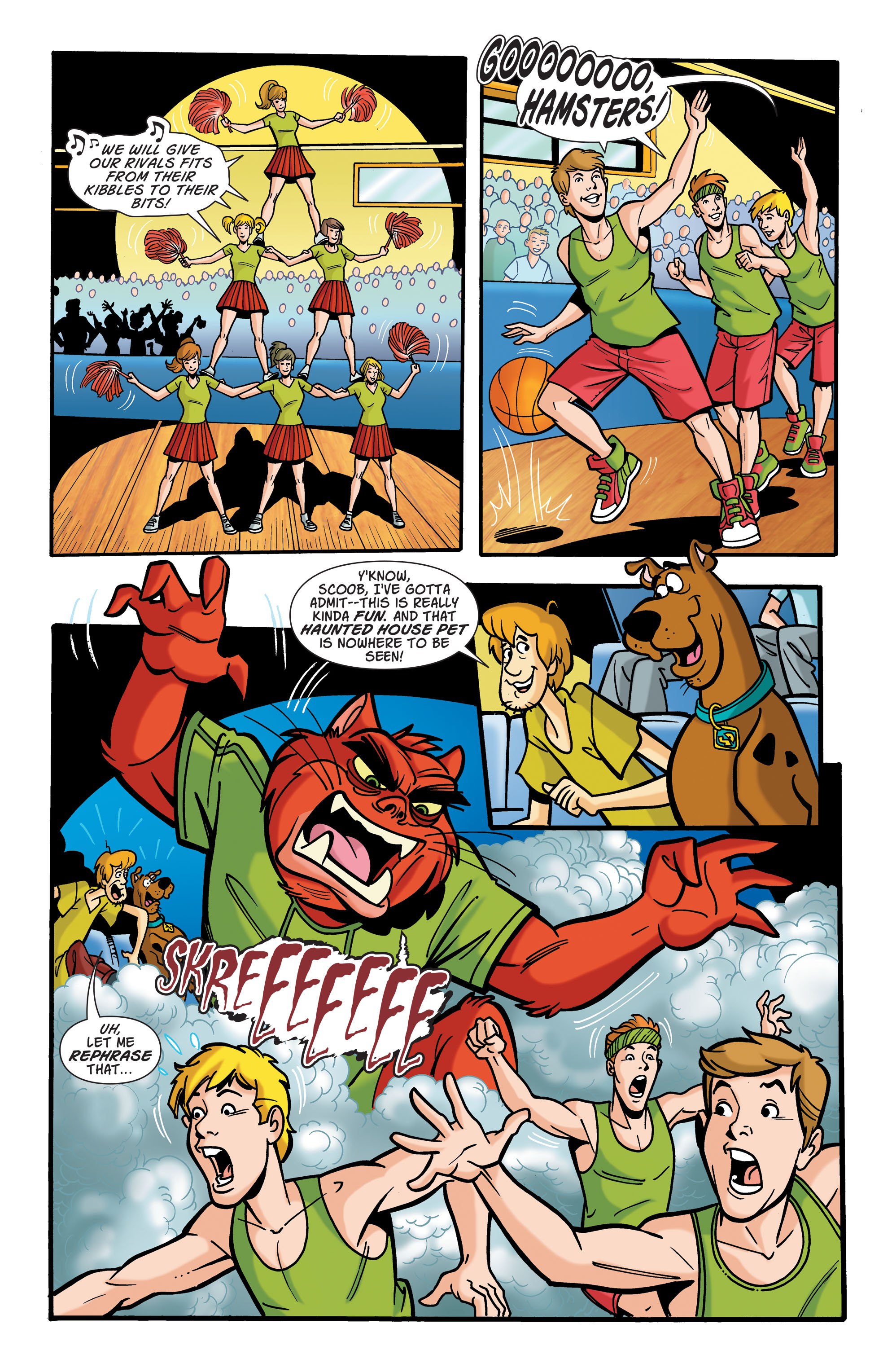 Read online Scooby-Doo: Where Are You? comic -  Issue #70 - 7
