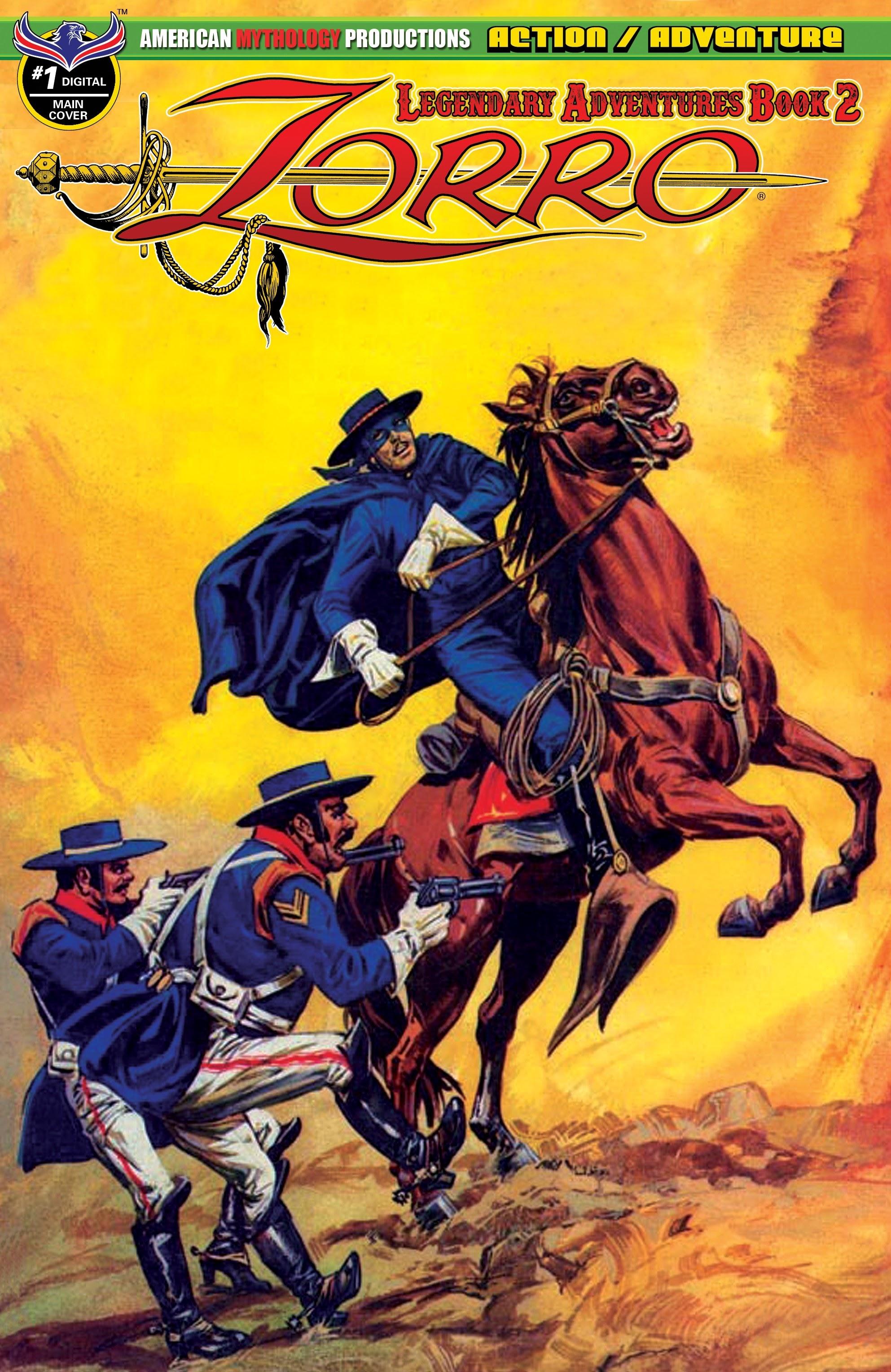Zorro: Legendary Adventures (2019) 1 Page 1