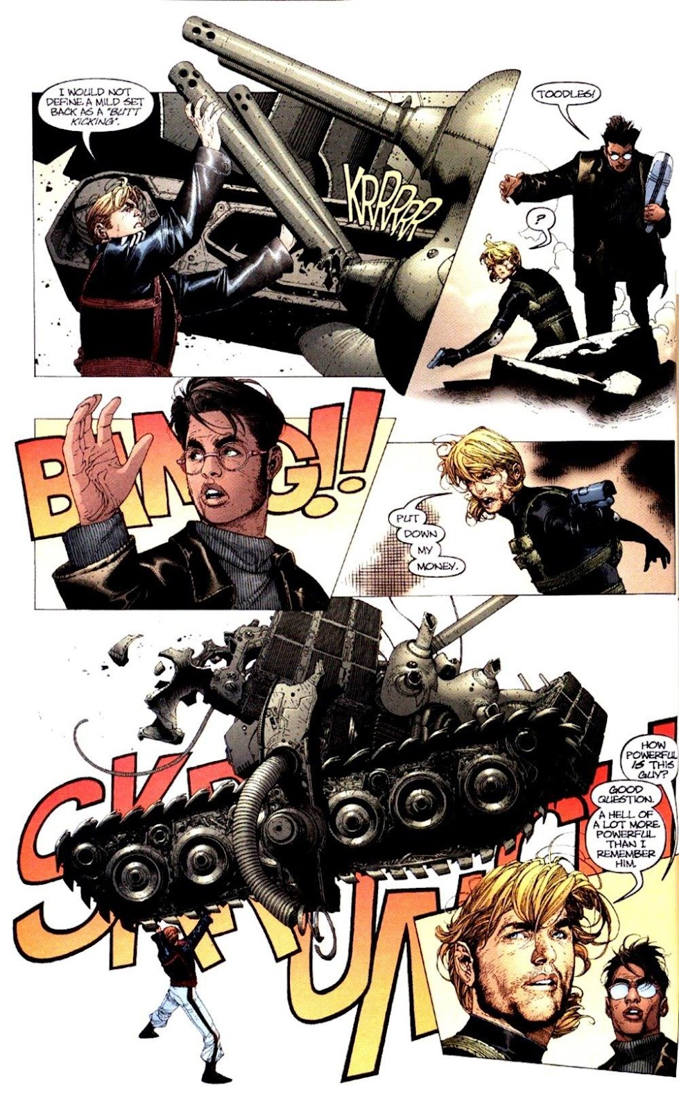 Wildcats (1999) Issue #1 #2 - English 17