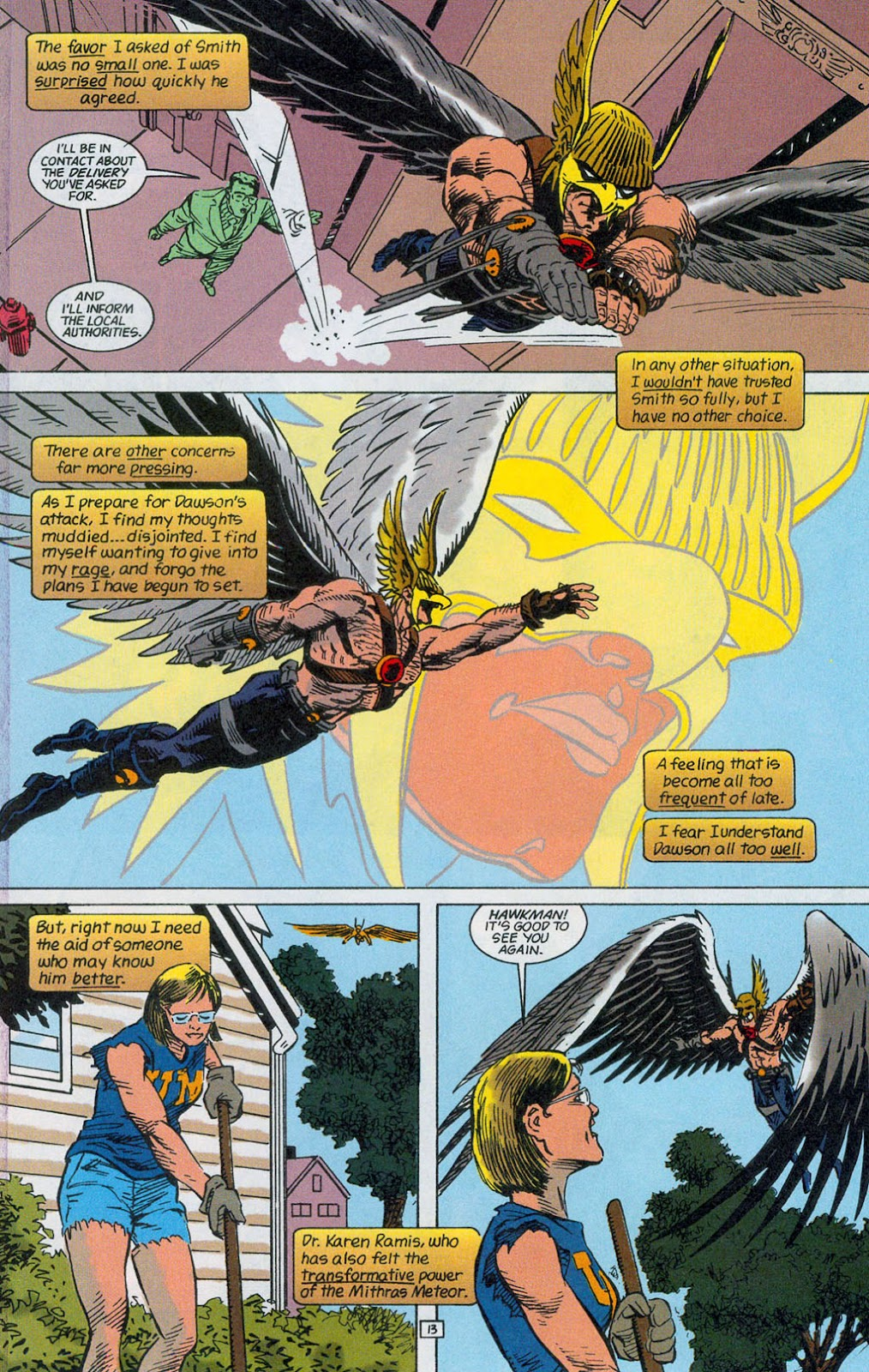 Hawkman (1993) Issue #24 #27 - English 15