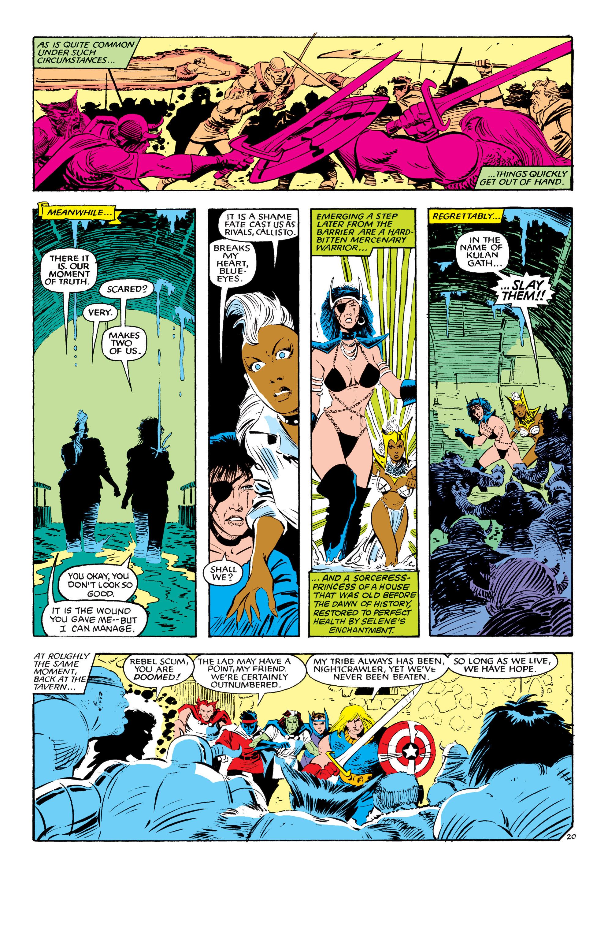 Read online Uncanny X-Men (1963) comic -  Issue #190 - 20