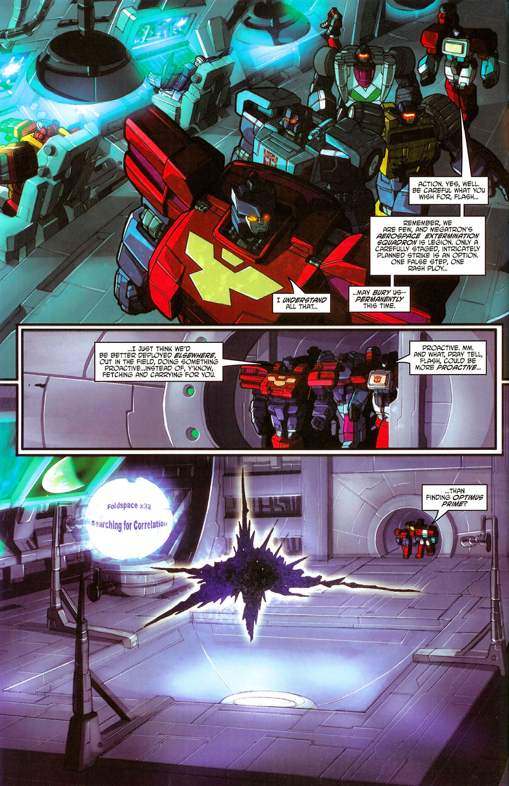 """Read online Transformers War Within: """"The Age of Wrath"""" comic -  Issue #3 - 5"""