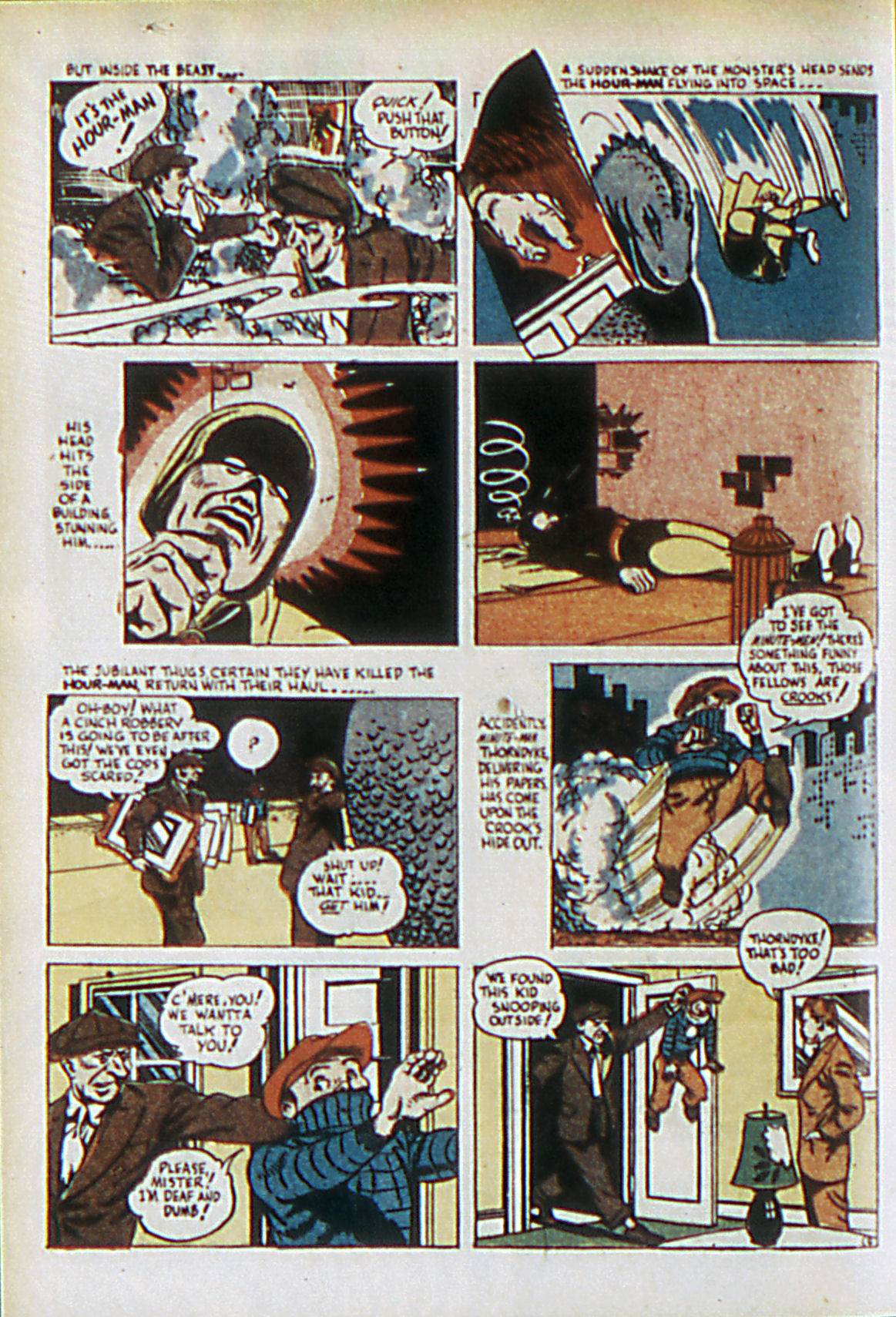 Read online Adventure Comics (1938) comic -  Issue #61 - 37