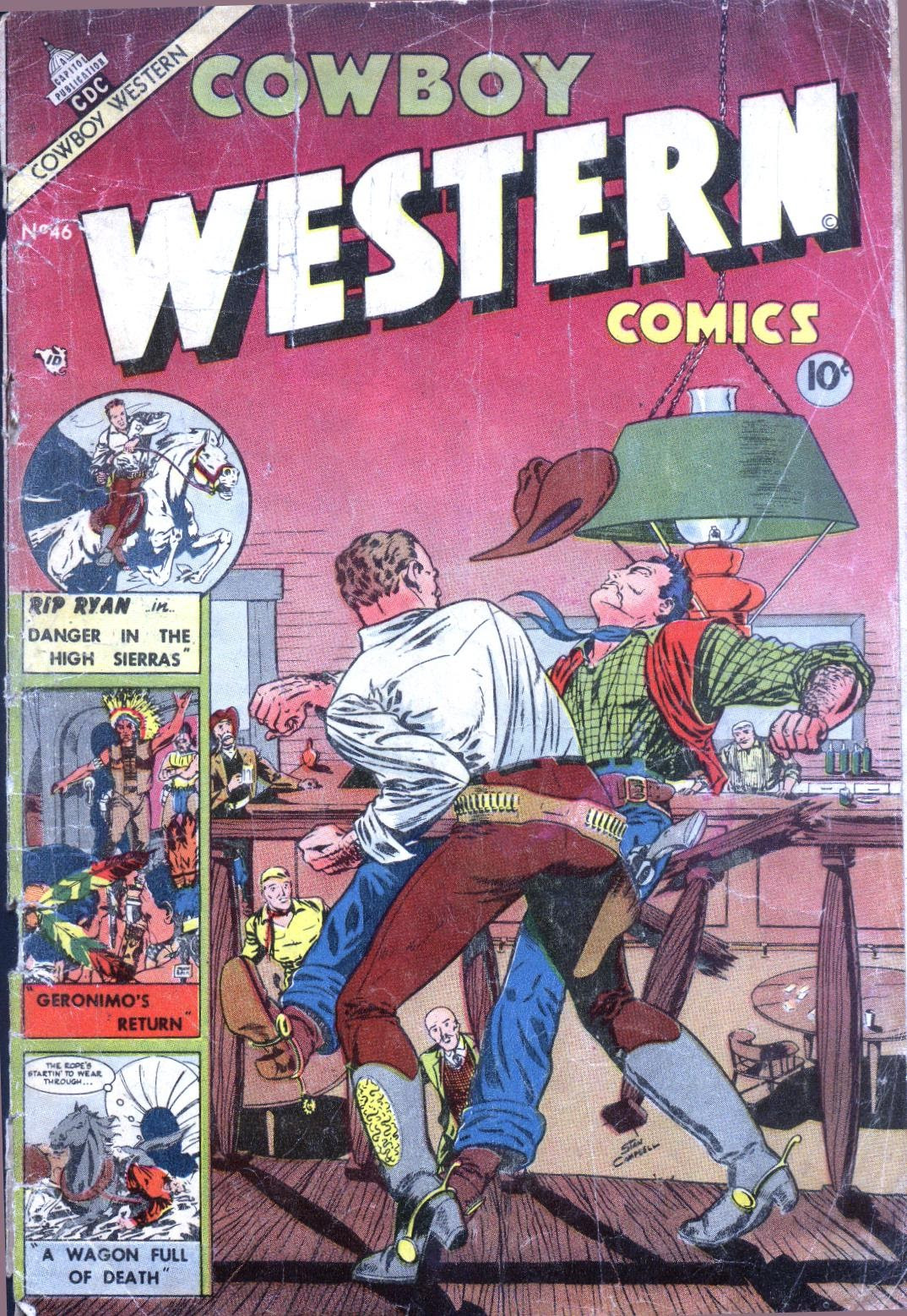 Cowboy Western Comics (1953) issue 46 - Page 1