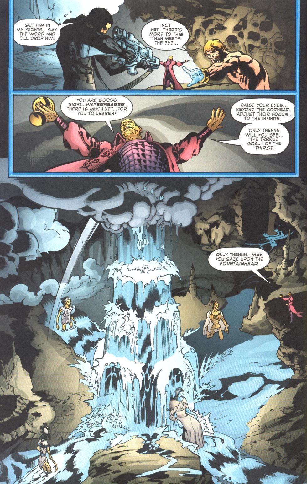 Read online Aquaman (2003) comic -  Issue #11 - 10
