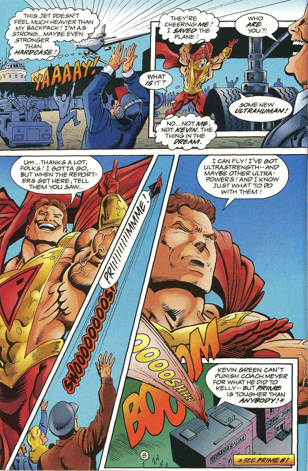 Read online Ultraverse Premiere comic -  Issue #0 - 10