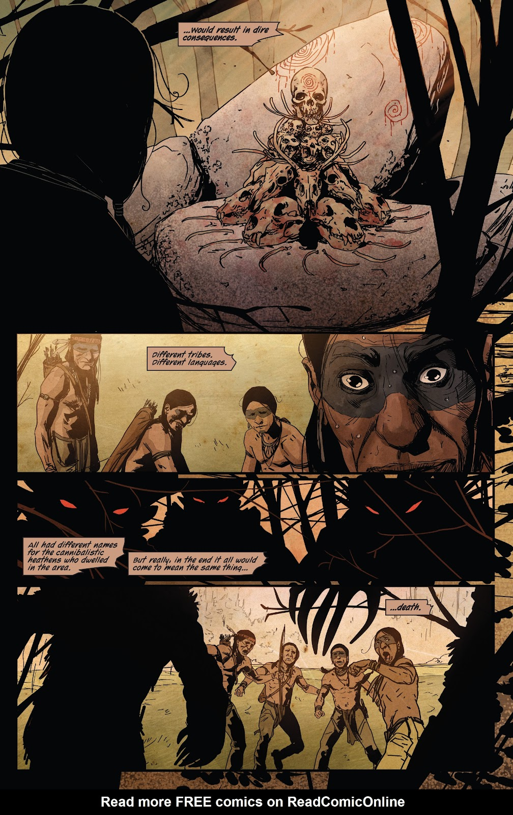 Read online Ruins Of Ravencroft comic -  Issue # Carnage - 9