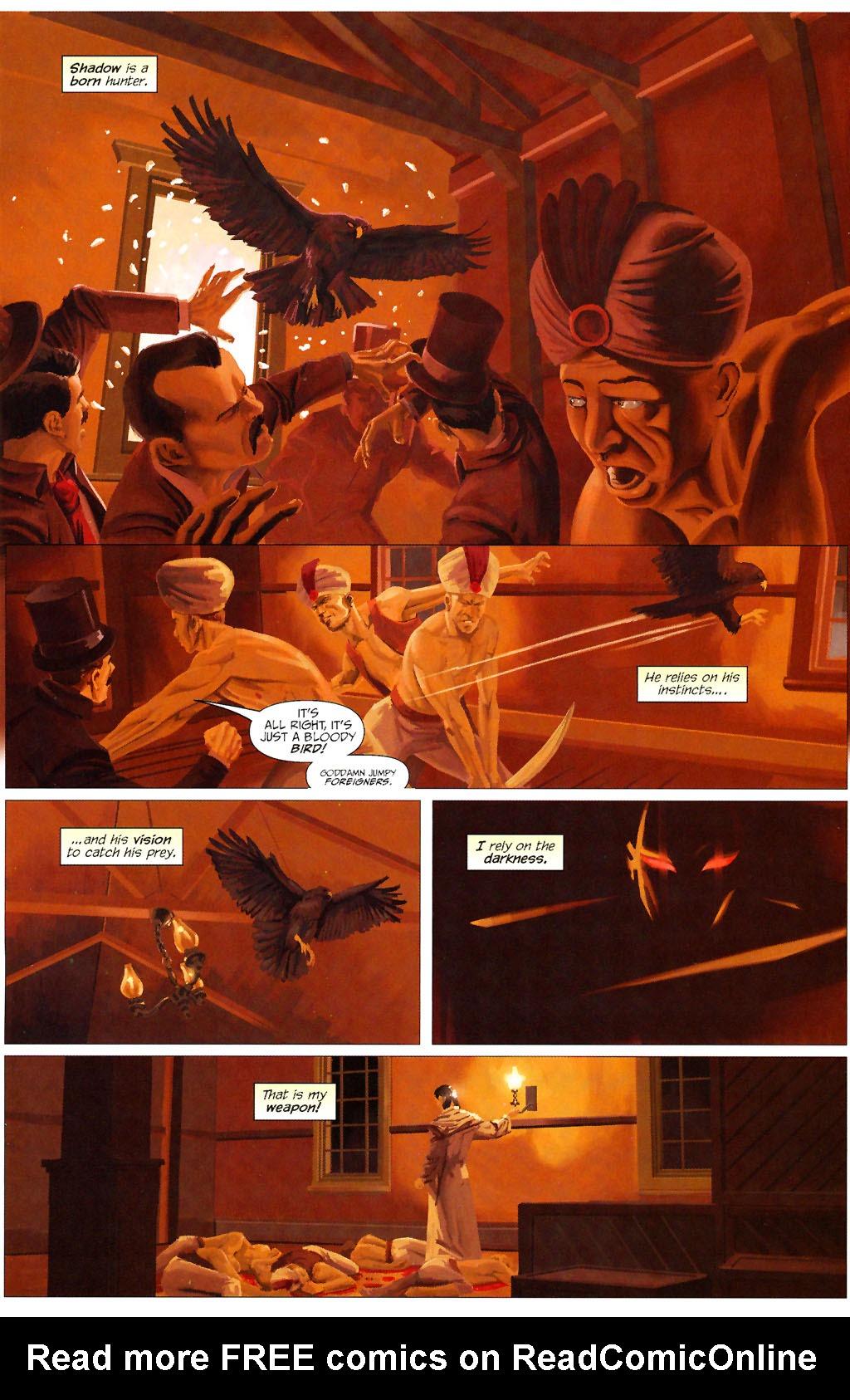 Read online ShadowHawk (2005) comic -  Issue #13 - 14