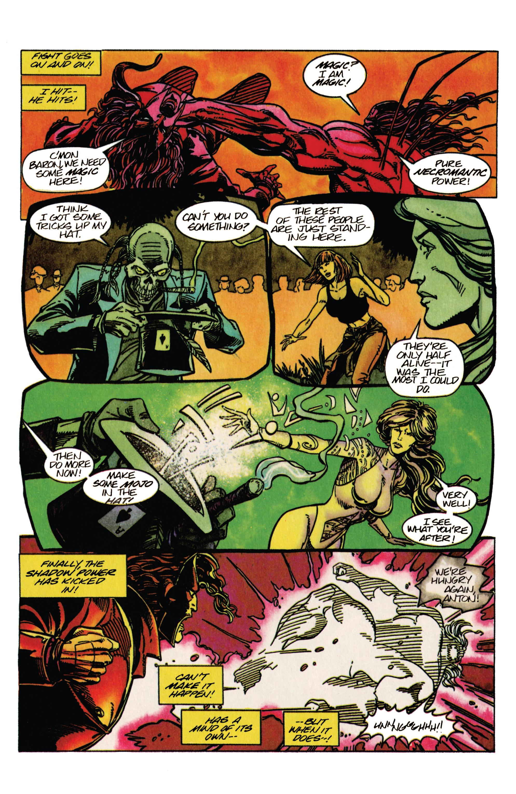 Read online Shadowman (1992) comic -  Issue #33 - 10