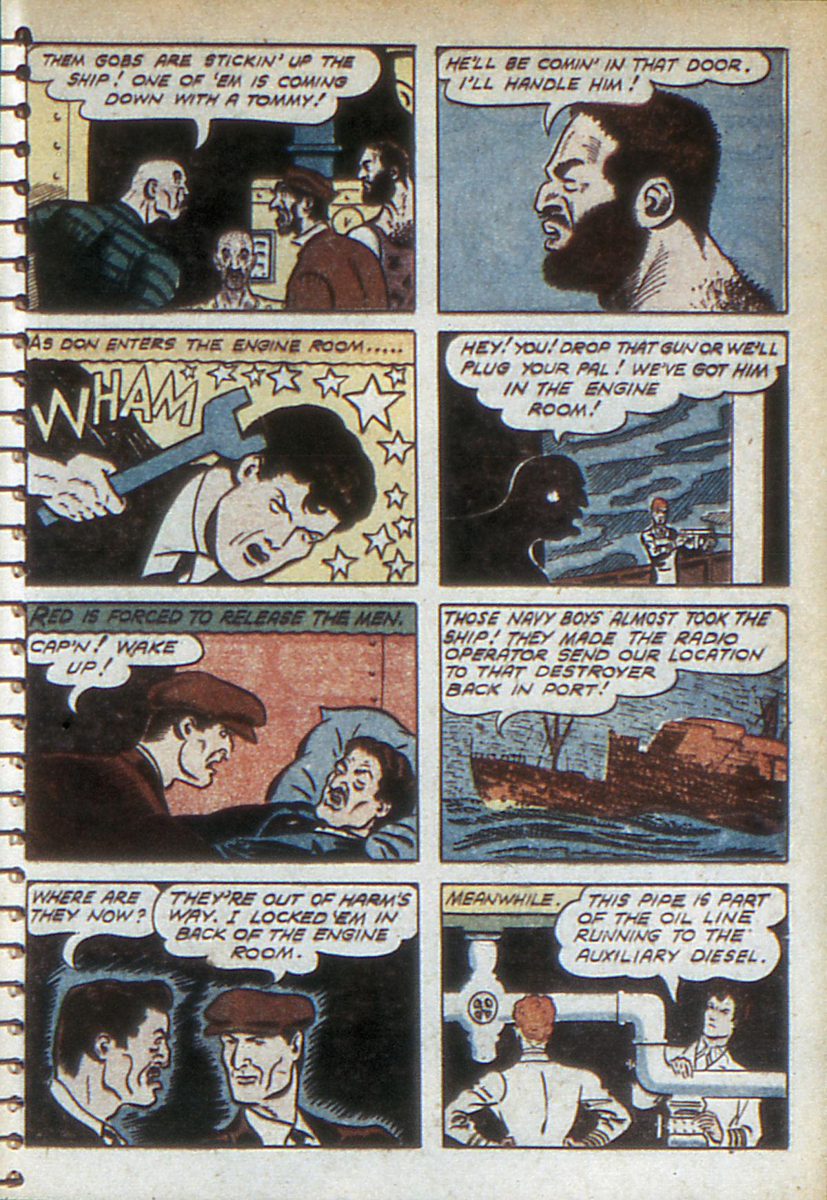 Read online Adventure Comics (1938) comic -  Issue #52 - 57