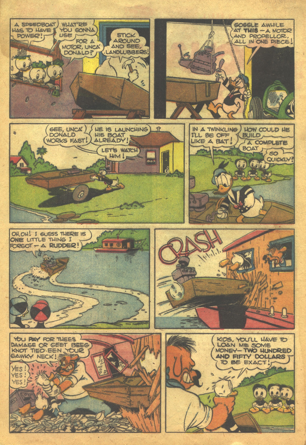 Walt Disney's Comics and Stories issue 62 - Page 4