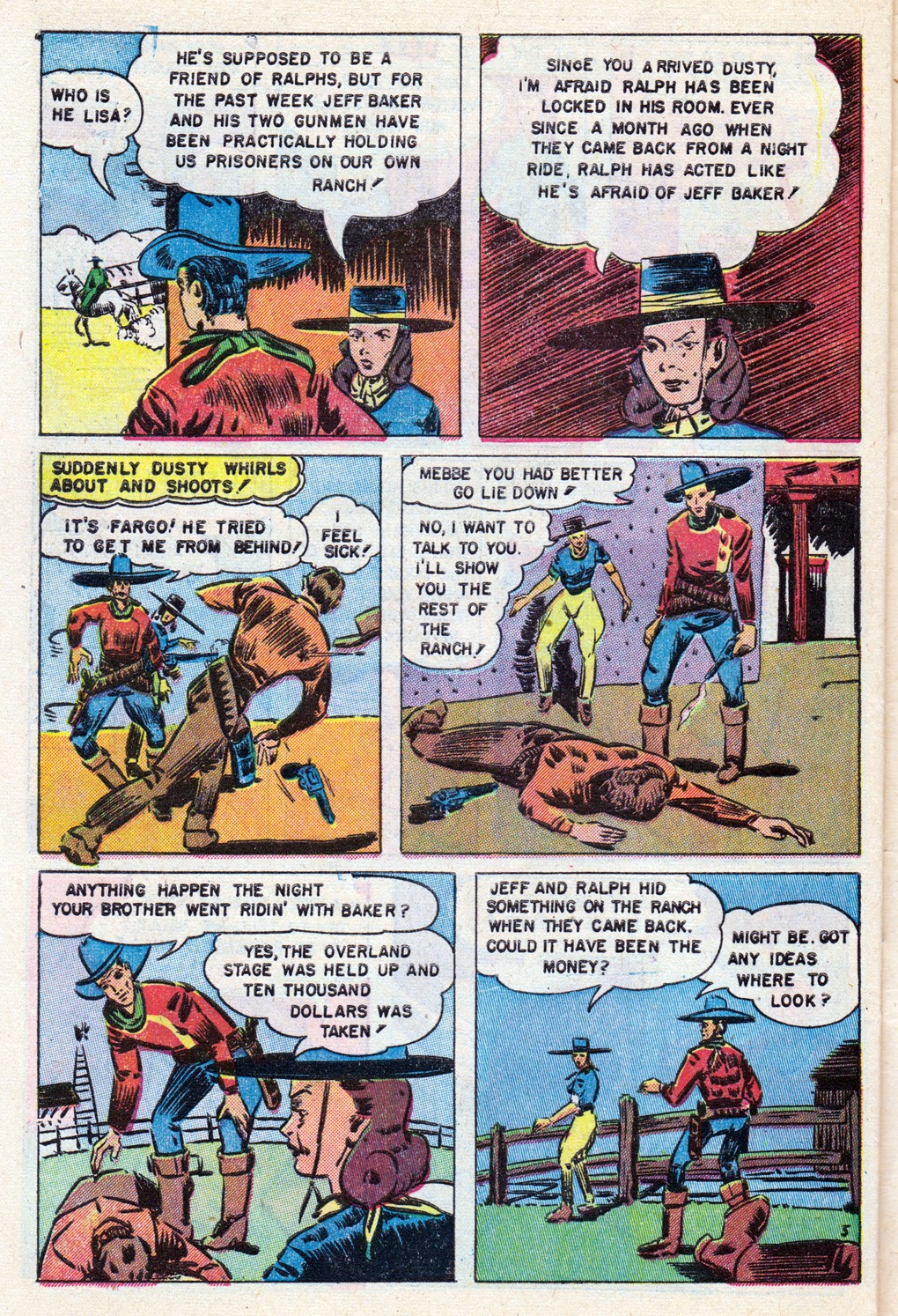 Cowboy Western Comics (1948) issue 18 - Page 28