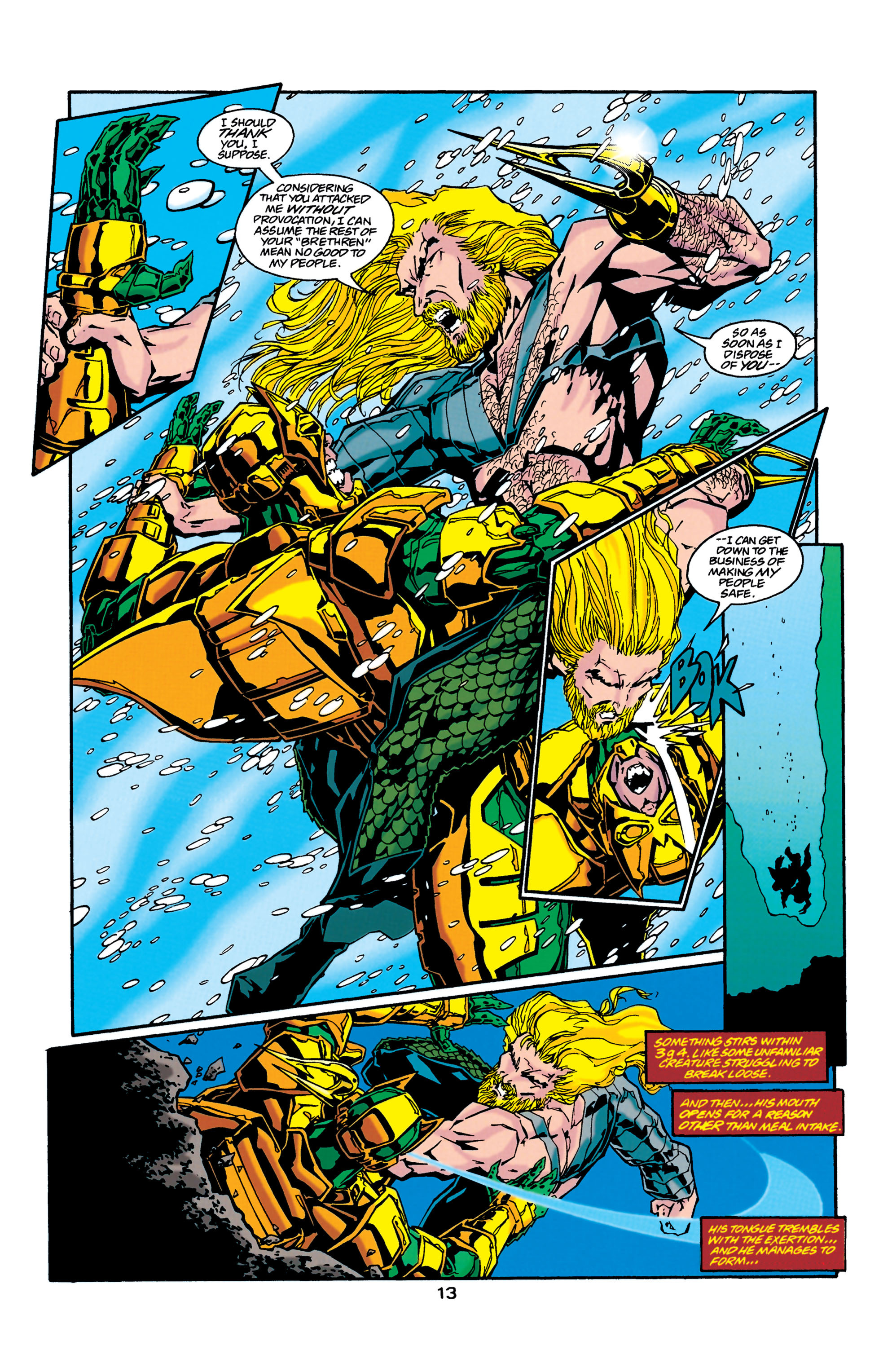Read online Aquaman (1994) comic -  Issue #37 - 13