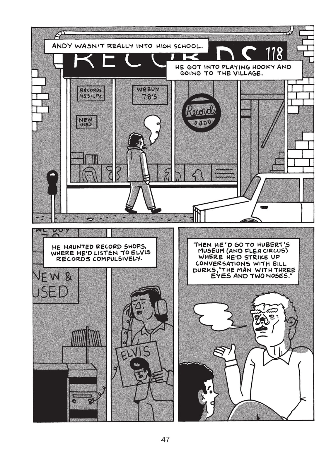 Read online Is This Guy For Real?: The Unbelievable Andy Kaufman comic -  Issue # TPB (Part 1) - 52