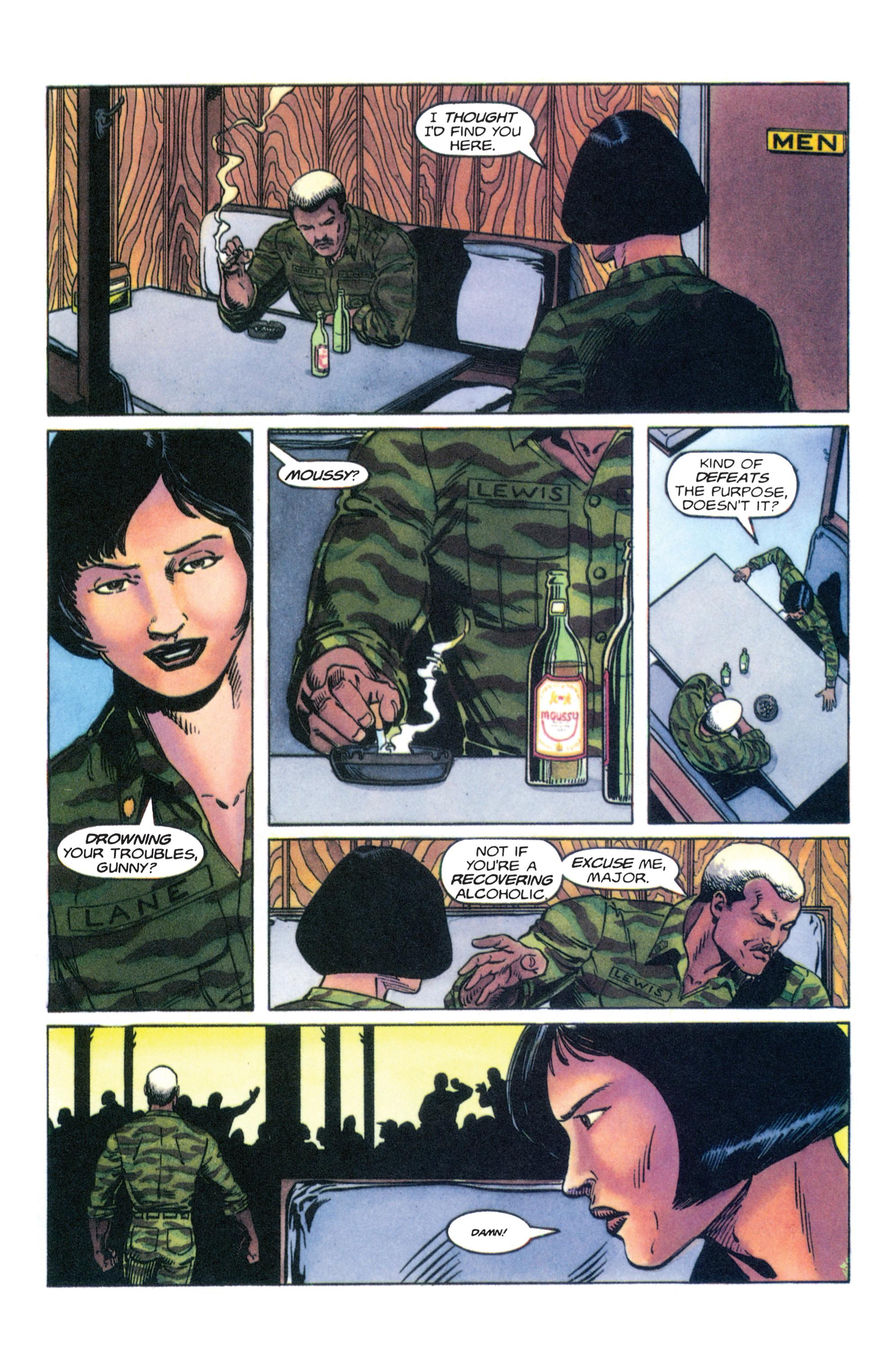 Read online Armorines comic -  Issue #4 - 13
