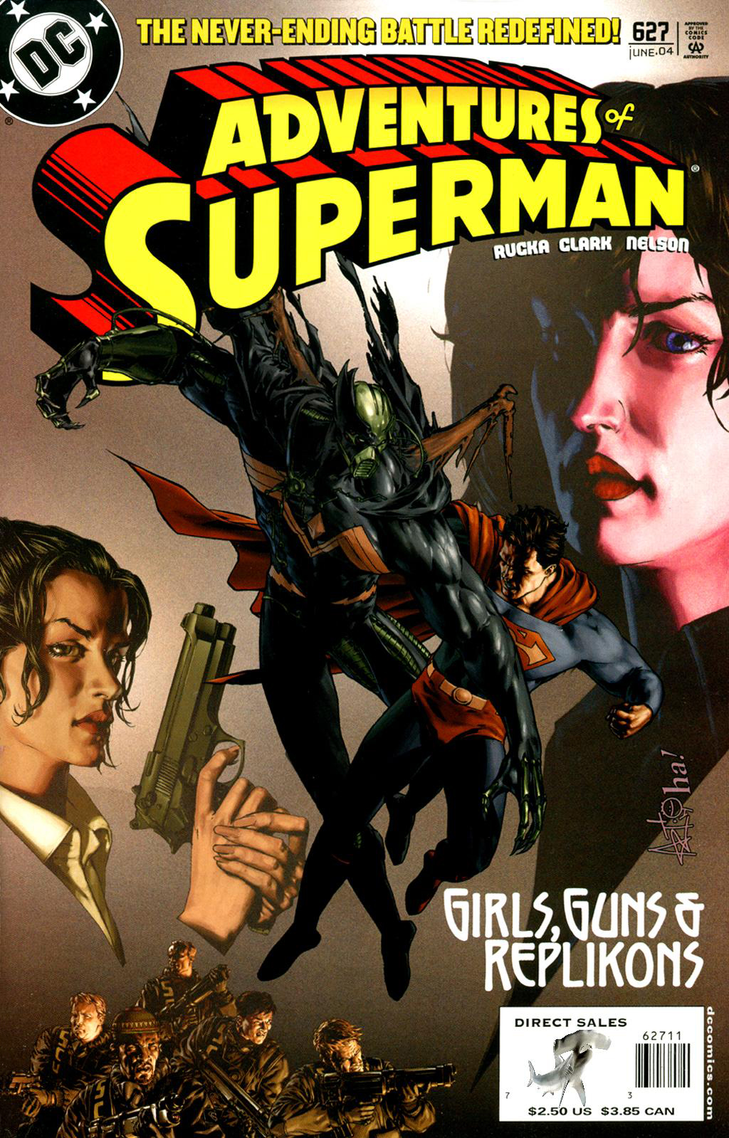 Read online Adventures of Superman (1987) comic -  Issue #627 - 1