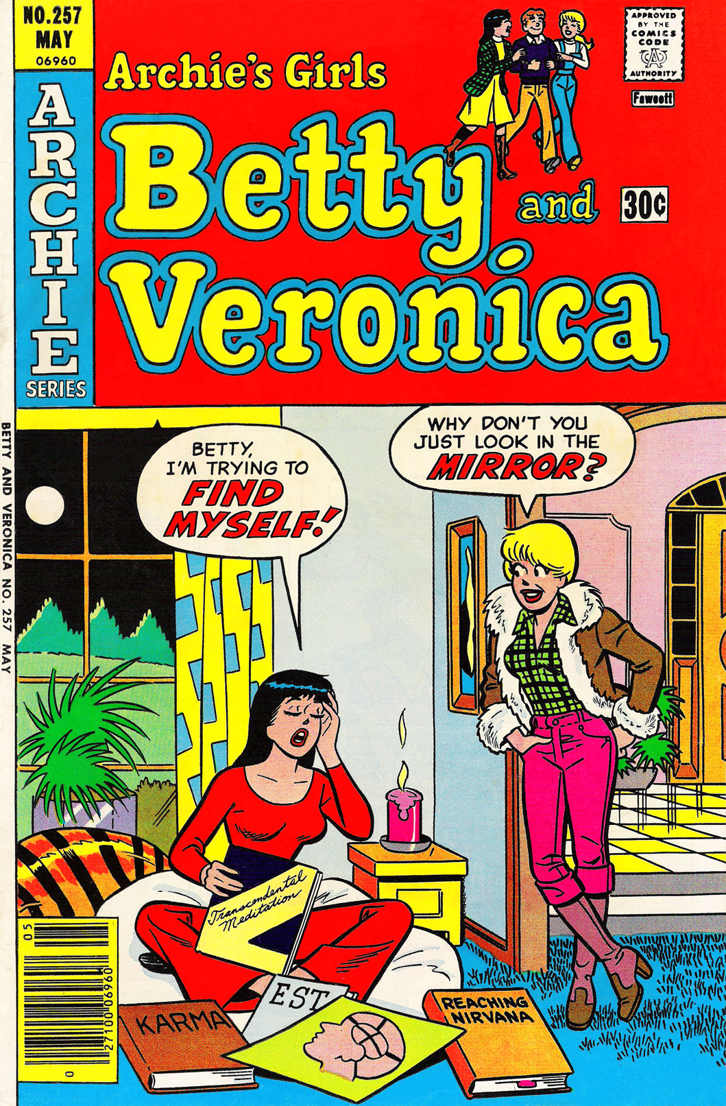 Read online Archie's Girls Betty and Veronica comic -  Issue #257 - 1
