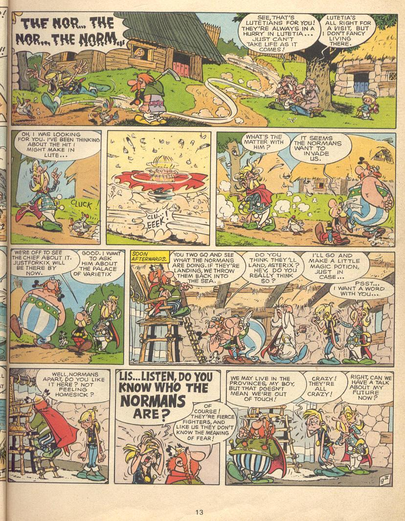 Read online Asterix comic -  Issue #9 - 10