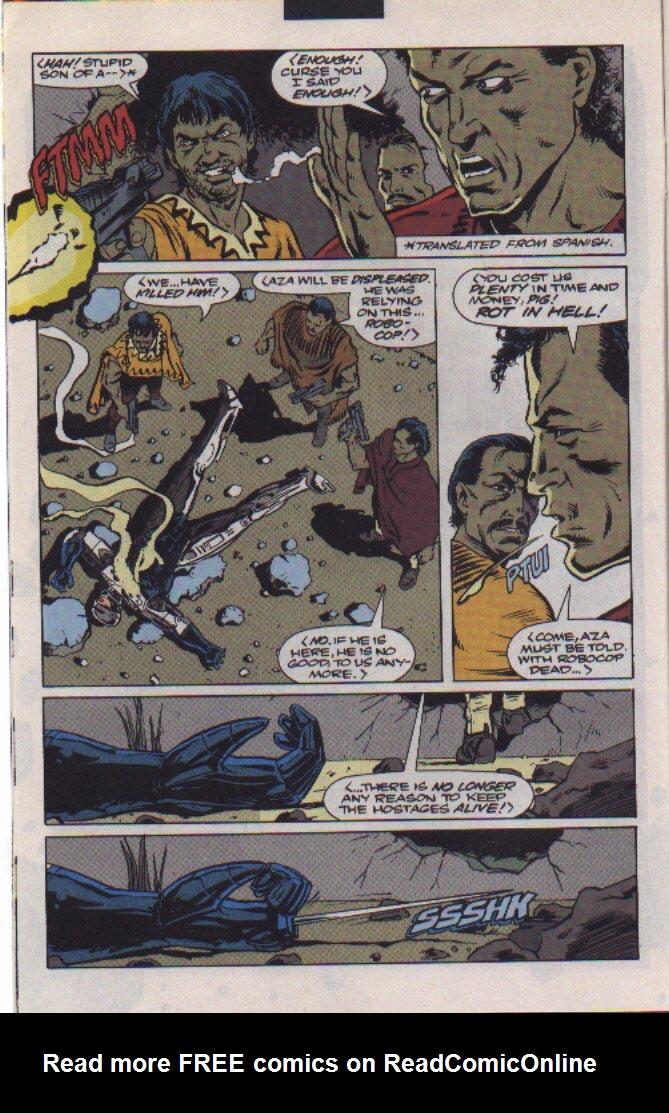 Read online Robocop (1990) comic -  Issue #22 - 6