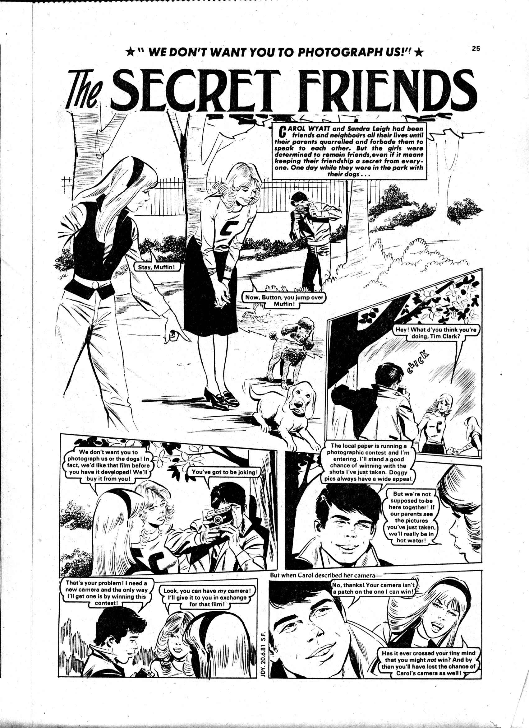 Read online Judy comic -  Issue #1119 - 25